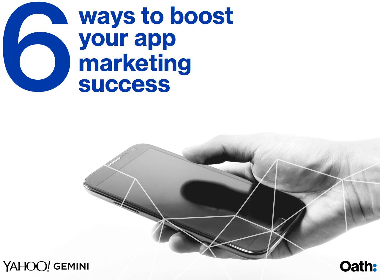 six ways to boost app marketing