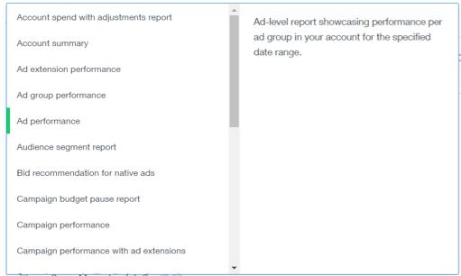 select-report