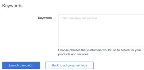 keywords retargeting