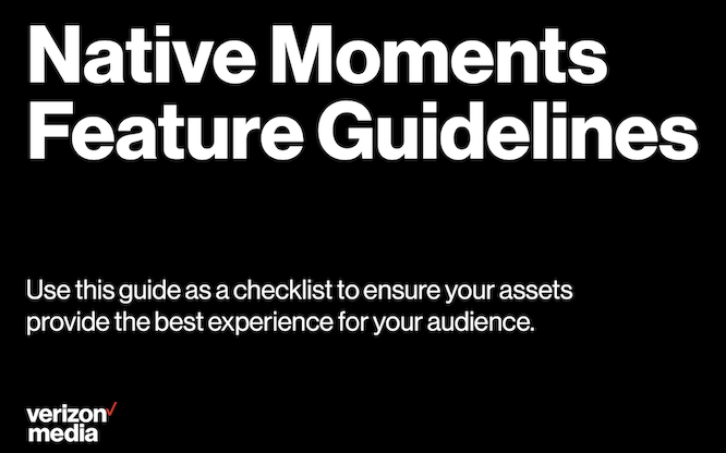moments guidelines