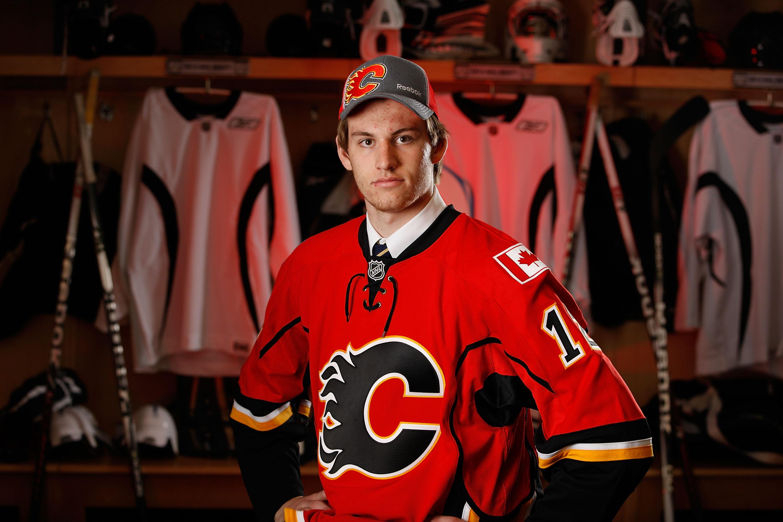 Calgary Flames draft pick Jon Gillies