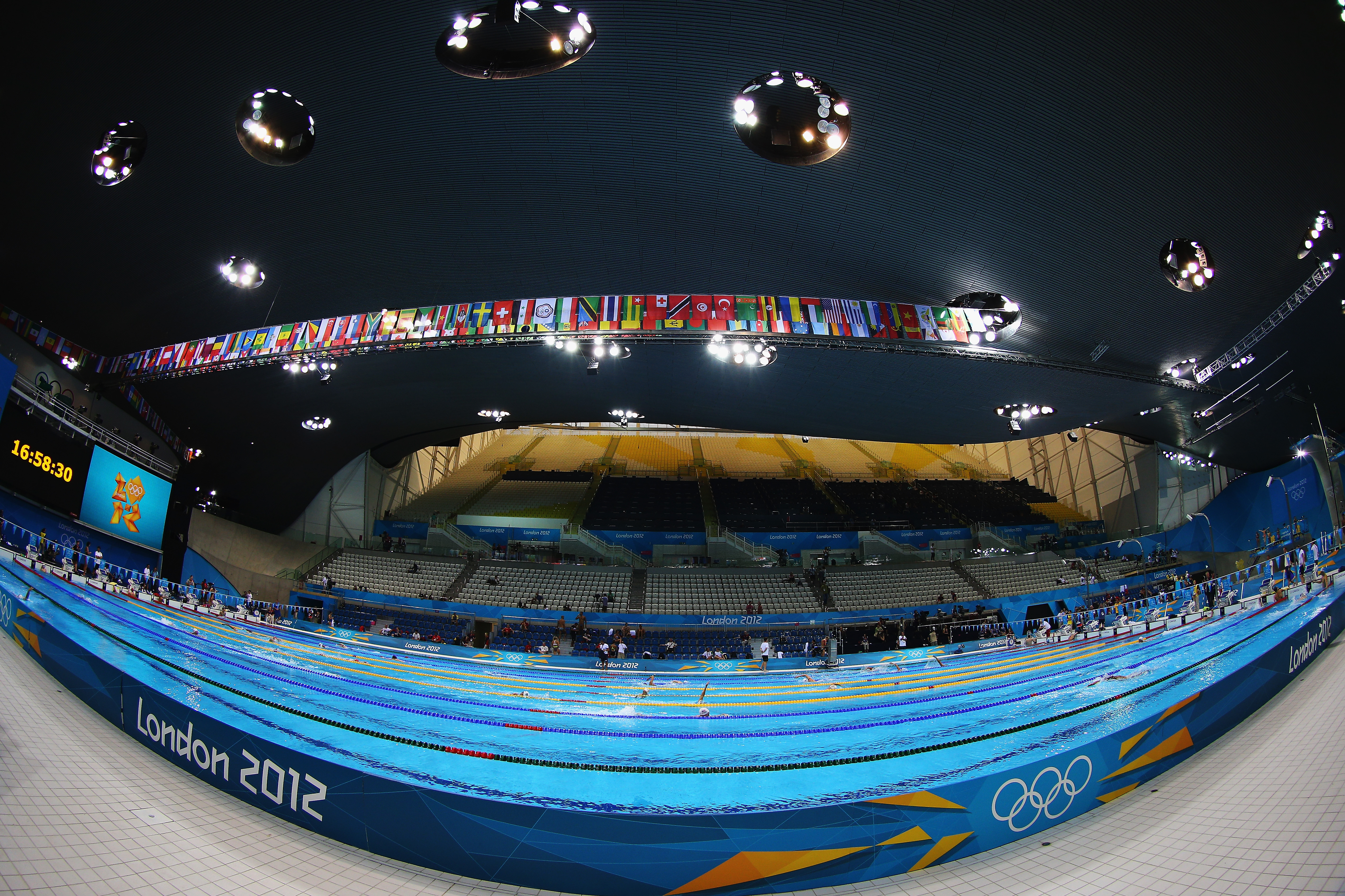 Heat Wave Creates Potential Problem At London 39 S Olympic Pool Olympics