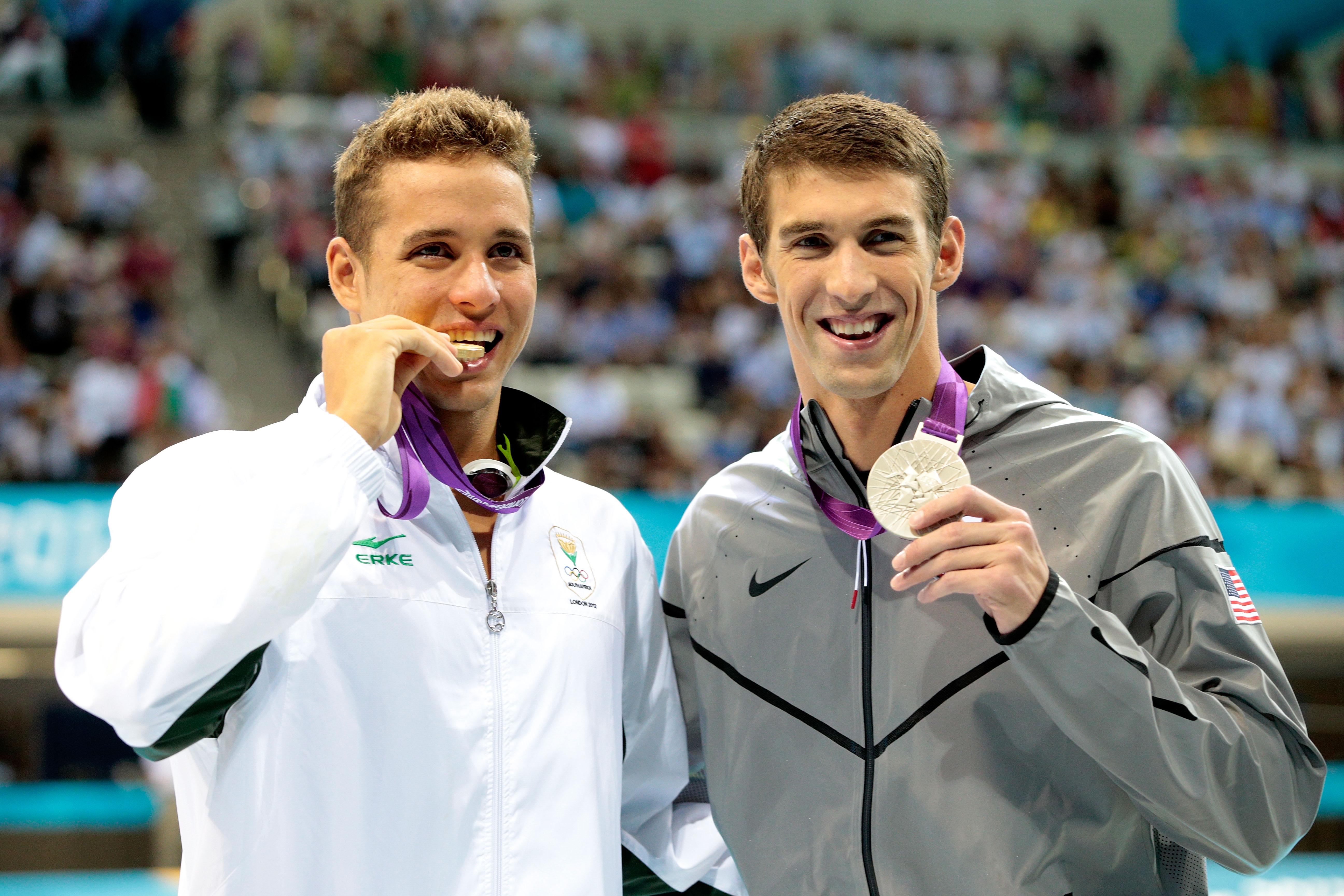 Michael Phelps Vs Chad Le Clos Thehudl