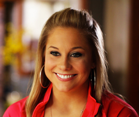 Click for more Shawn Johnson photos