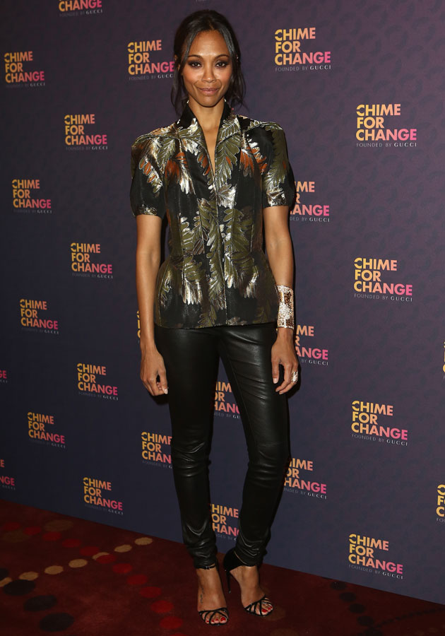Sound of Change: Zoe Saldana Gucci AW13