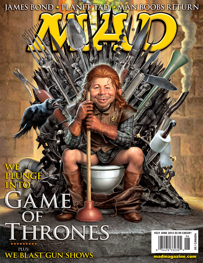 Mad Magazine Parodies Game Of Thrones Exclusive Photos