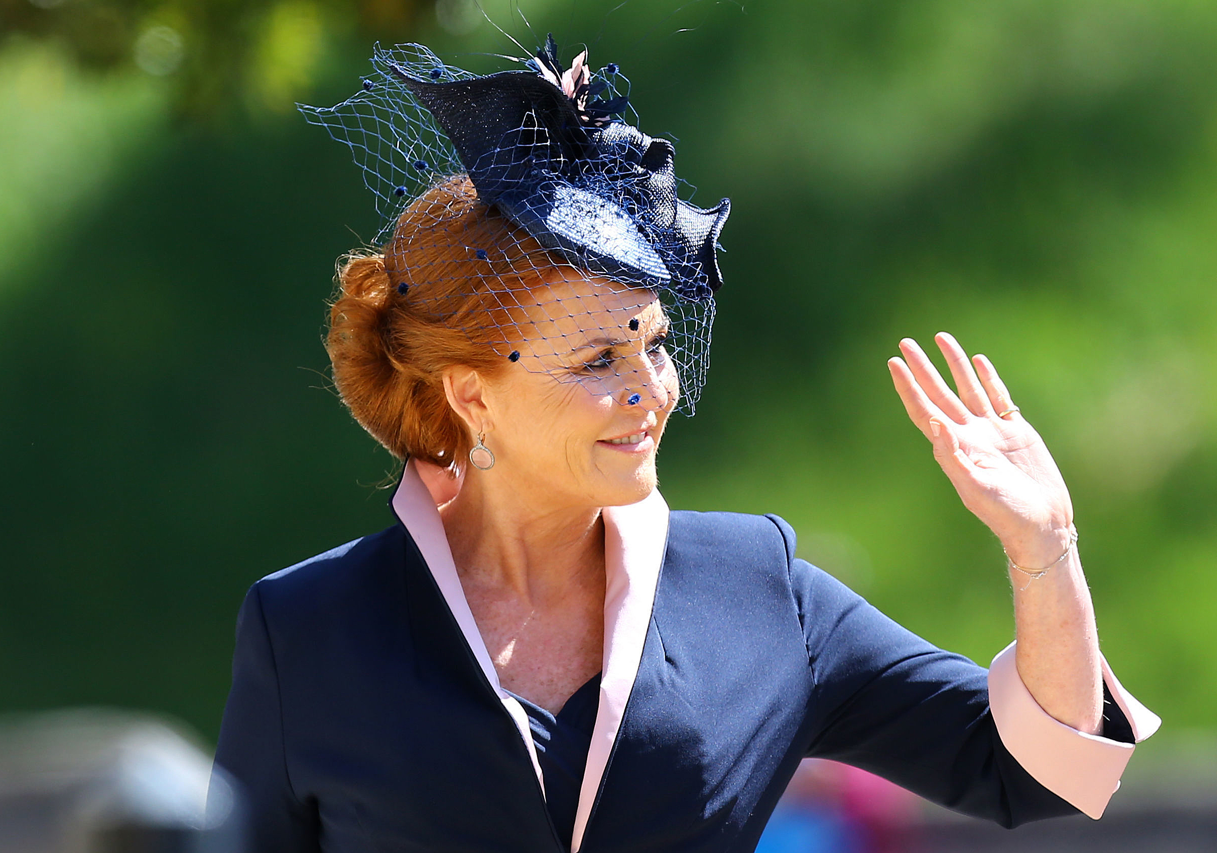 The Duchess of York at Meghan Markle and Prince Harry's Wedding on May 19,