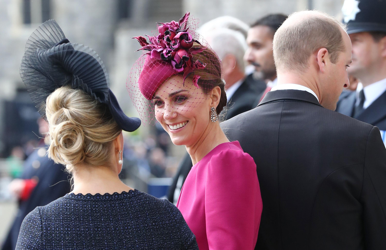 Kate Middleton se lució con un Alexander