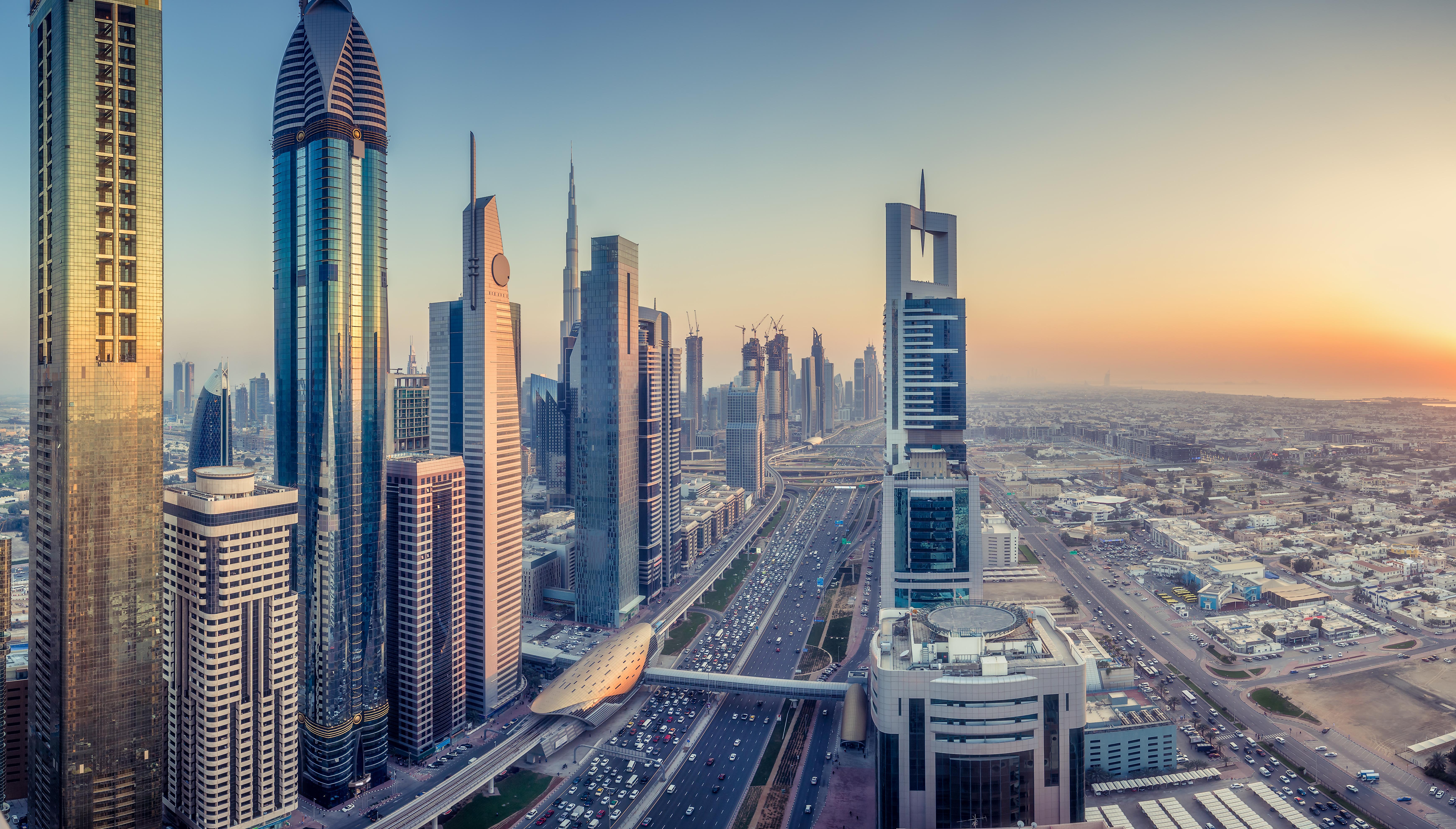 Rascacielos en Dubai.