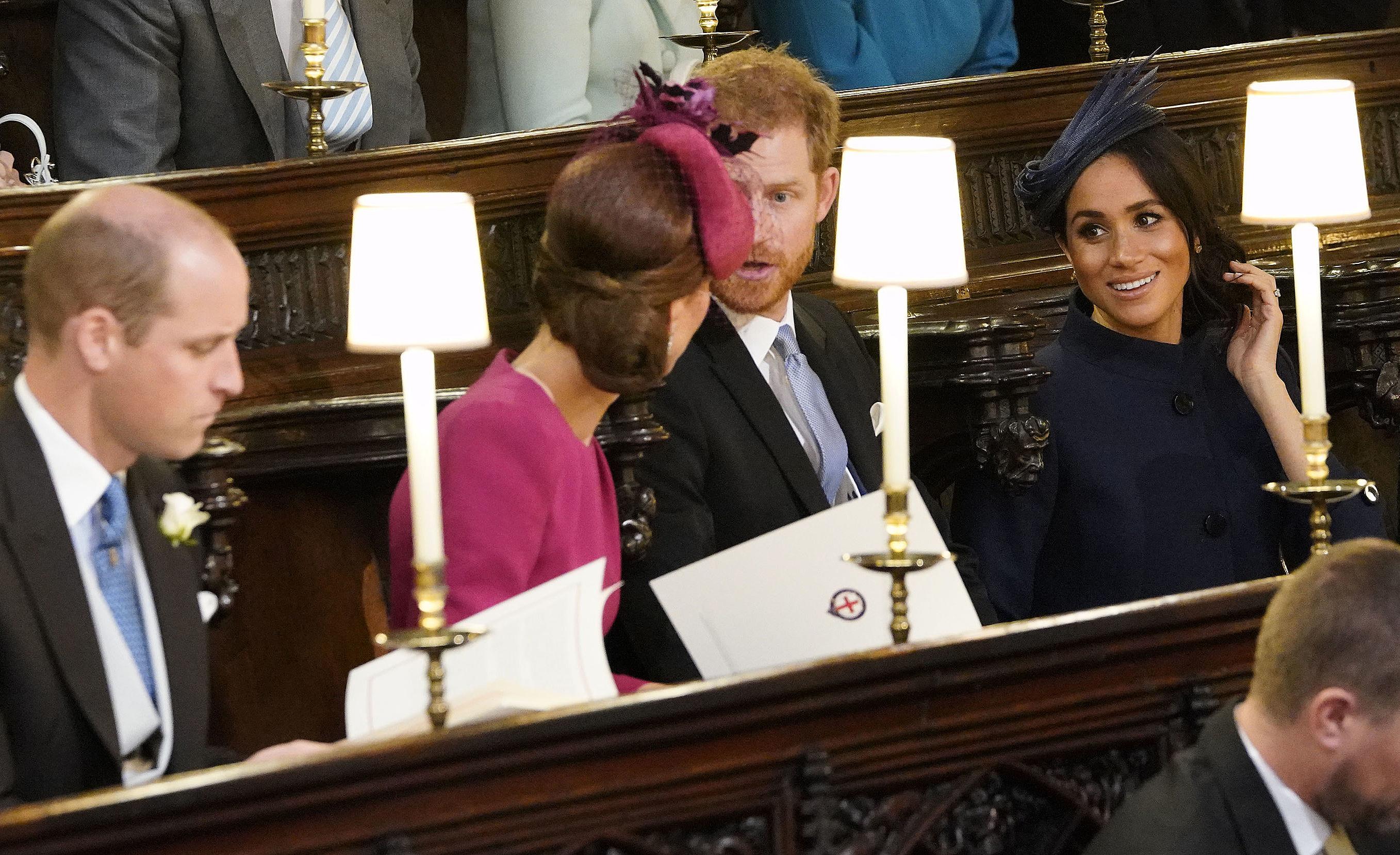 Los duques se sentaron en la misma
