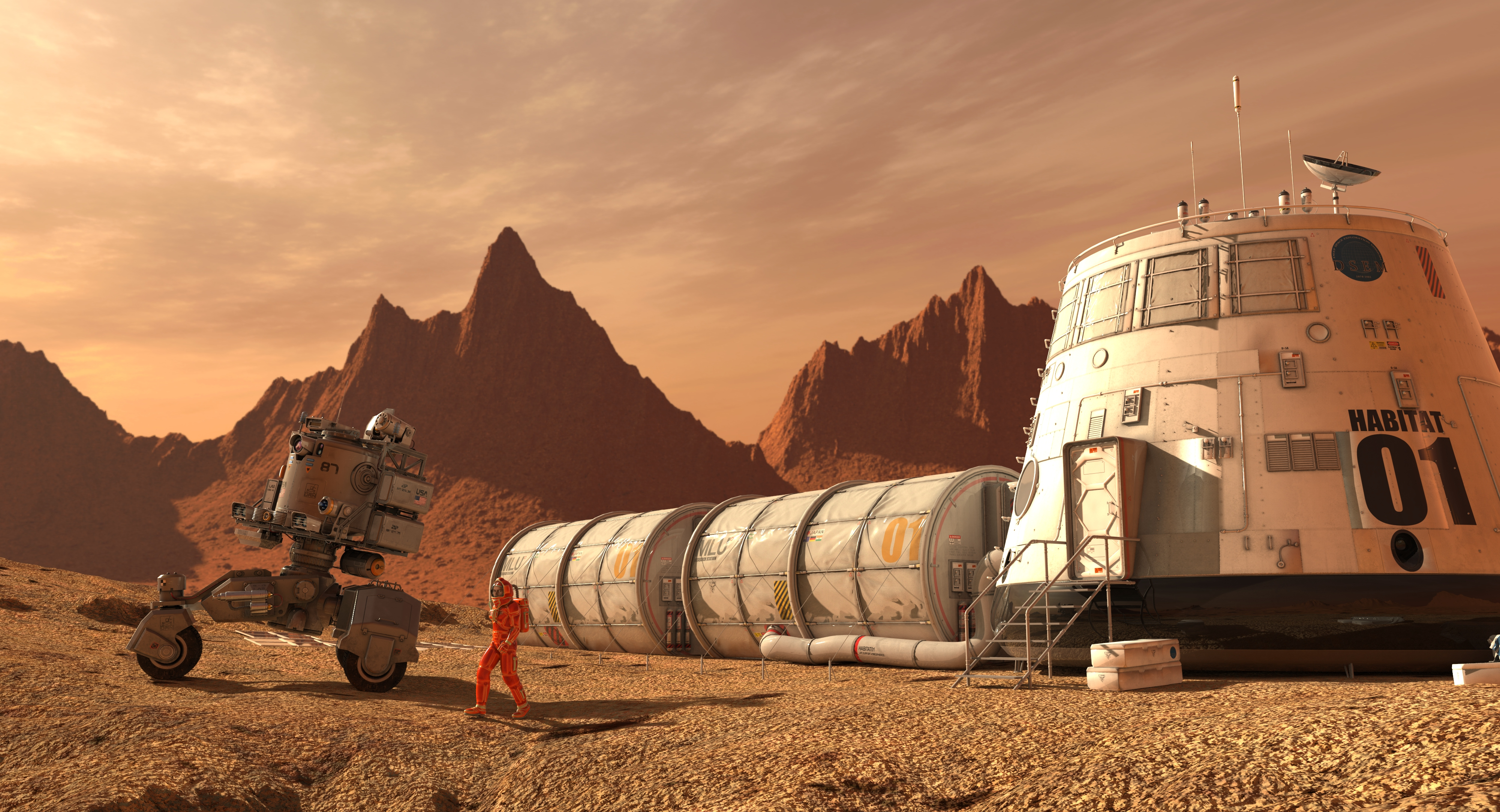 What it will take for humans to colonize the Moon and Mars