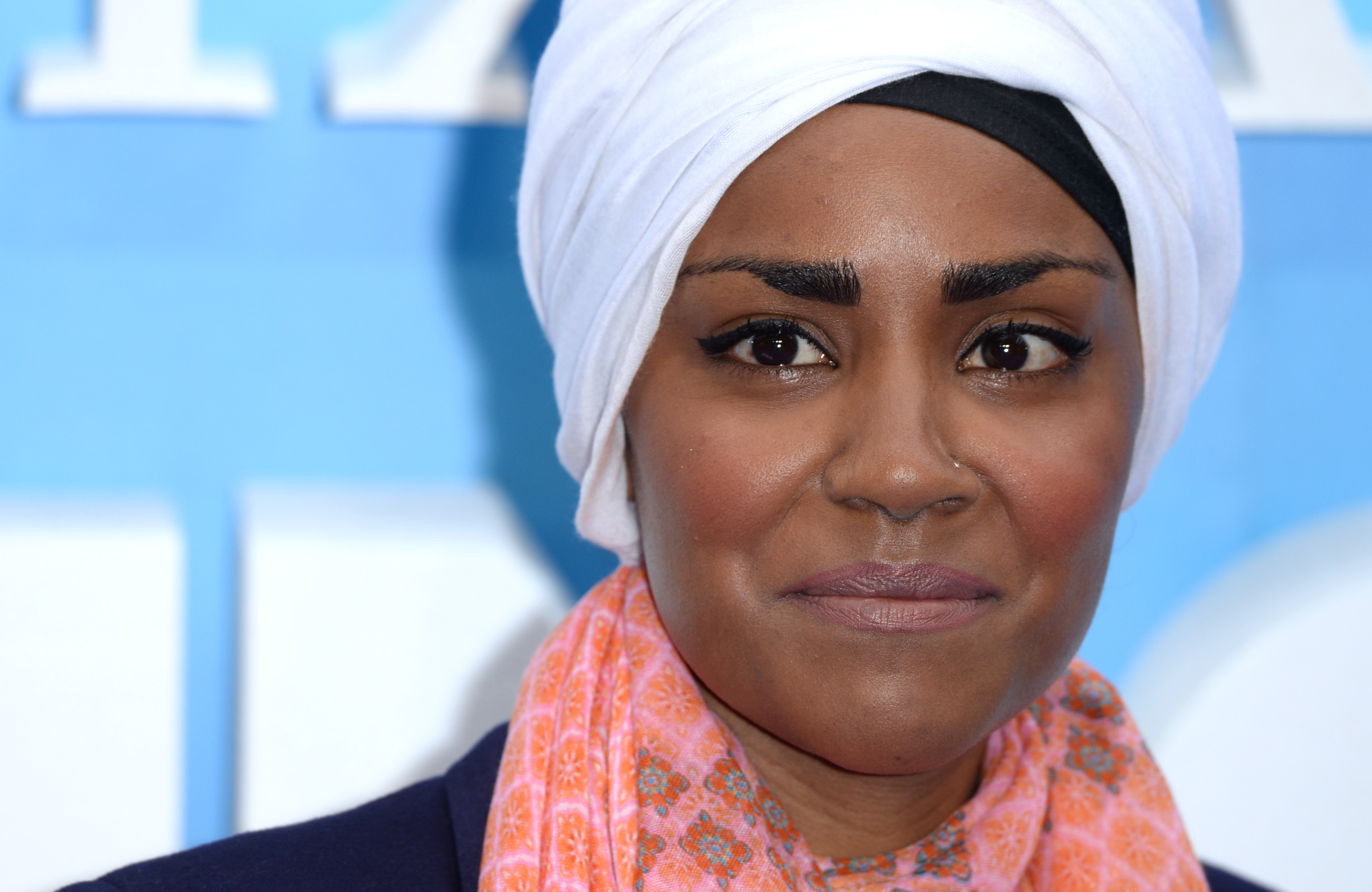 """LONDON, ENGLAND - JULY 10:  Nadiya Hussain attends the UK Premiere of """"Finding Dory"""" at Odeon Leicester Square on July 10, 2016 in London, England.  (Photo by Anthony Harvey/Getty Images)"""