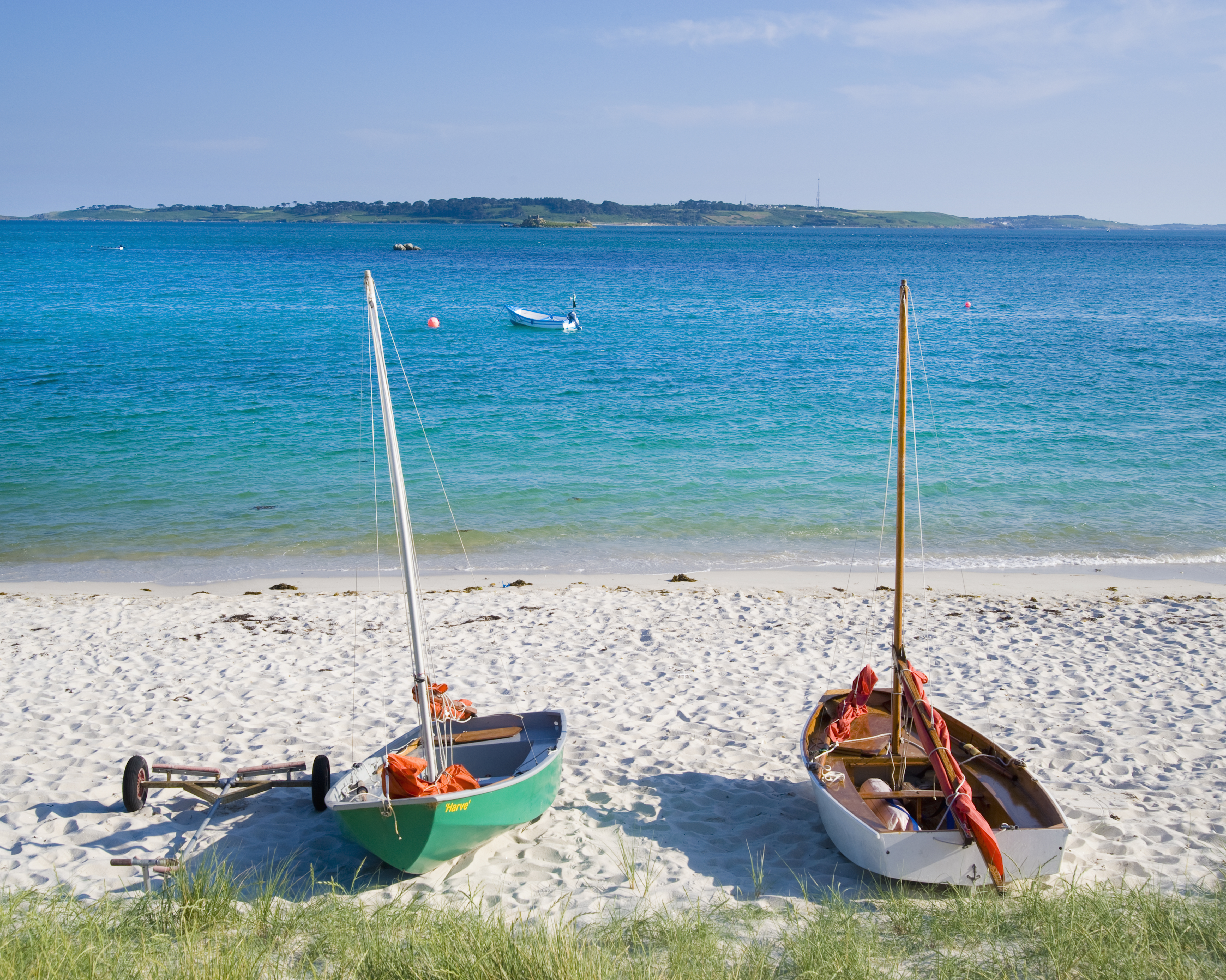 St. Martins Beach, Isles of Scilly.