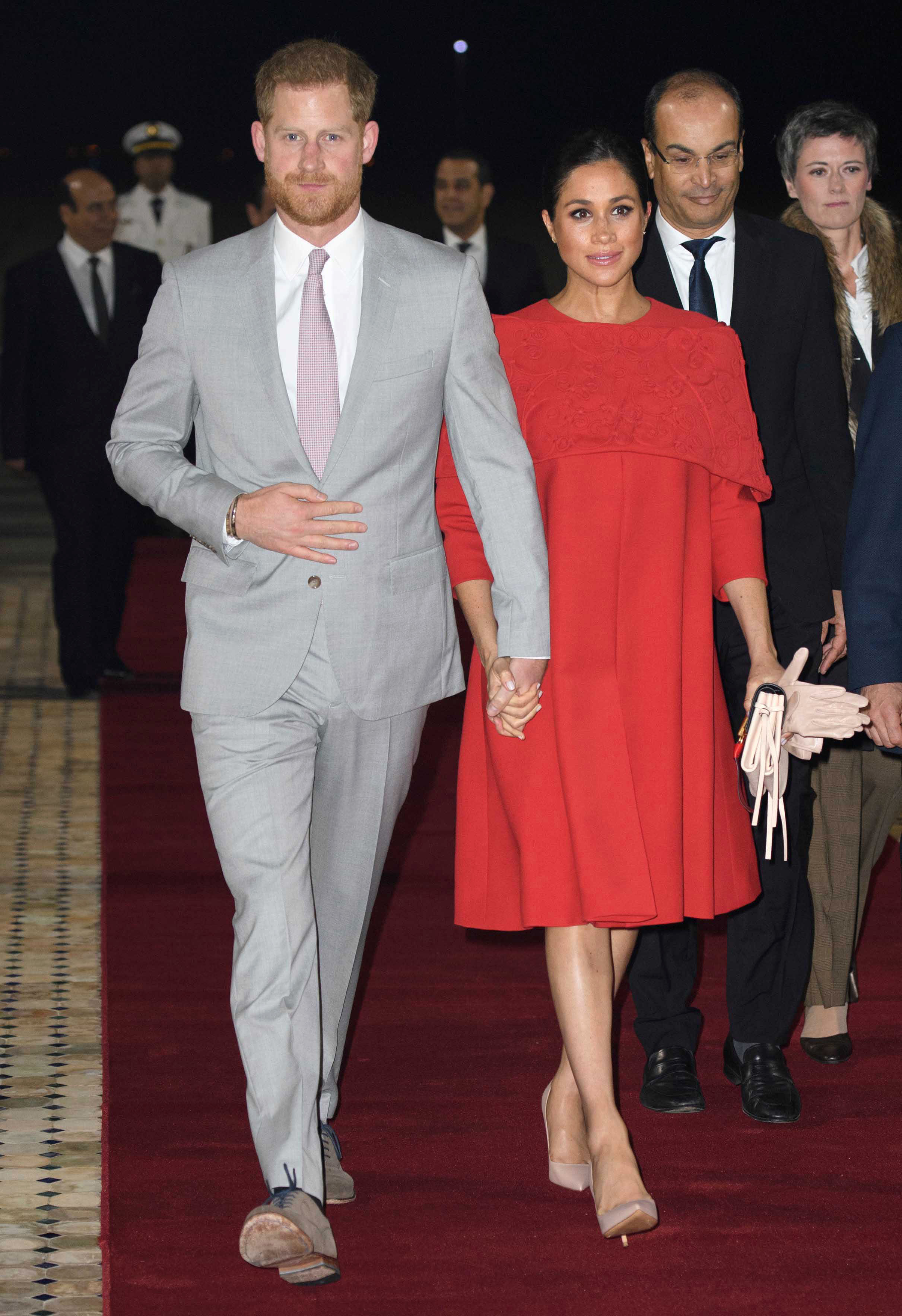 May 19th 2019 - Prince Harry The Duke of Sussex and Duchess Meghan of Sussex celebrate their first wedding anniversary. They were married at St. George's Chapel on the grounds of Windsor Castle on May 19th 2018. - File Photo by: zz/KGC-178/STAR MAX/IPx 2019 2/23/19 Prince Harry The Duke of Sussex and Meghan The Duchess of Sussex arrive at Casablanca Mohammed V International Airport as they begin their visit to the Kingdom of Morocco. (Casablanca, Morocco)