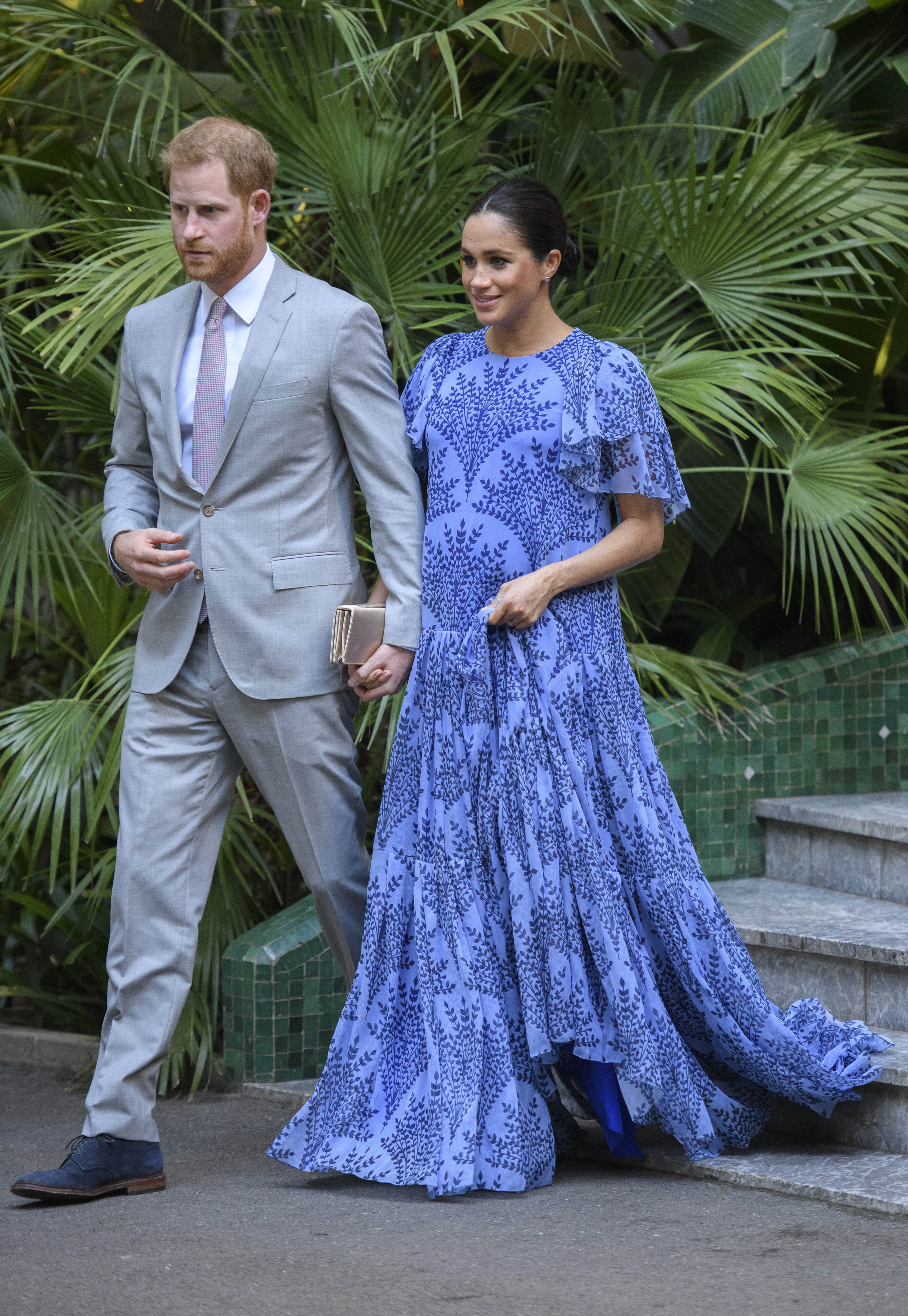 May 19th 2019 - Prince Harry The Duke of Sussex and Duchess Meghan of Sussex celebrate their first wedding anniversary. They were married at St. George's Chapel on the grounds of Windsor Castle on May 19th 2018. - File Photo by: zz/KGC-178/STAR MAX/IPx 2019 2/25/19 Prince Harry, Duke of Sussex and Meghan, Duchess of Sussex are received by HM The King of Morocco in an Audience today at the Royal Palace, Rabat, Morocco.