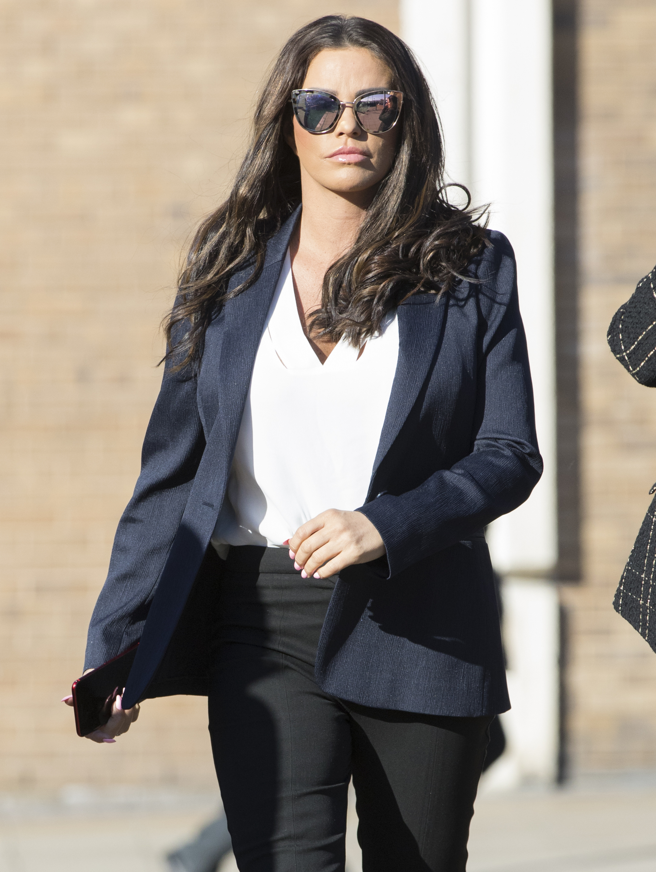 """File photo dated 25/02/19 of Katie Price, who is set for a High Court battle with ex-husband Alex Reid over claims she shared """"sexual"""" images of him with a television show audience."""