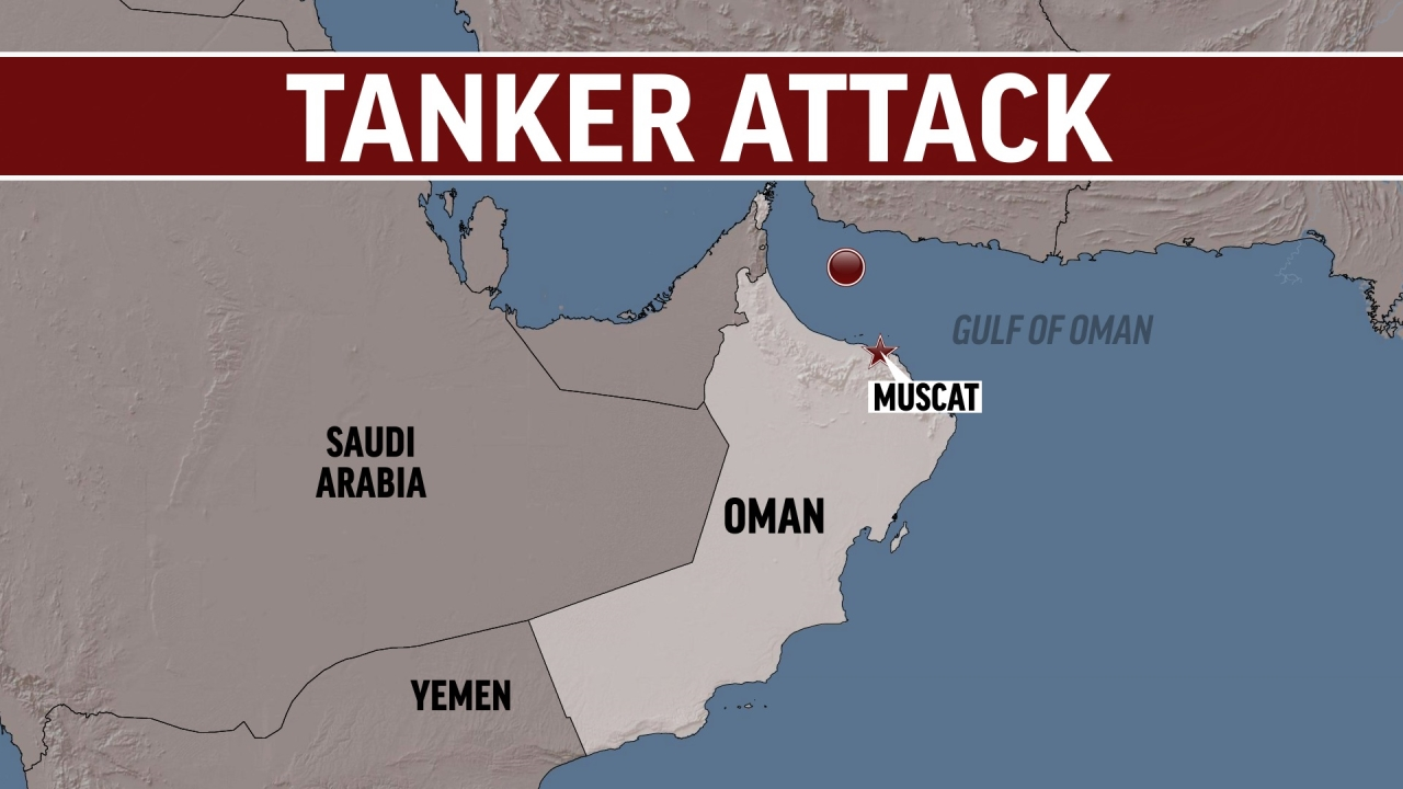 Two oil tankers struck in suspected attacks in Gulf of Oman