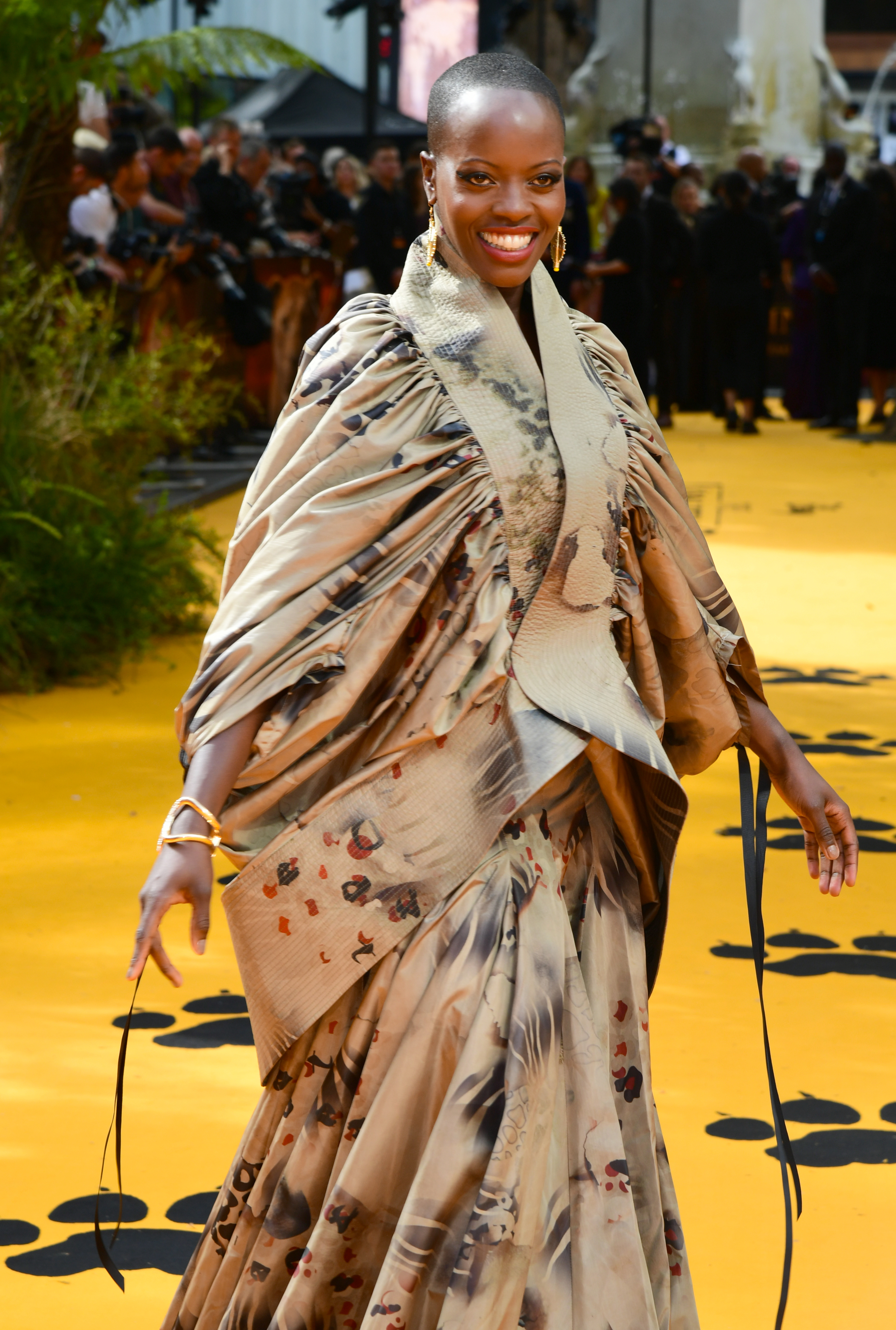 Florence Kasumba attending Disney's The Lion King European Premiere held in Leicester Square, London.
