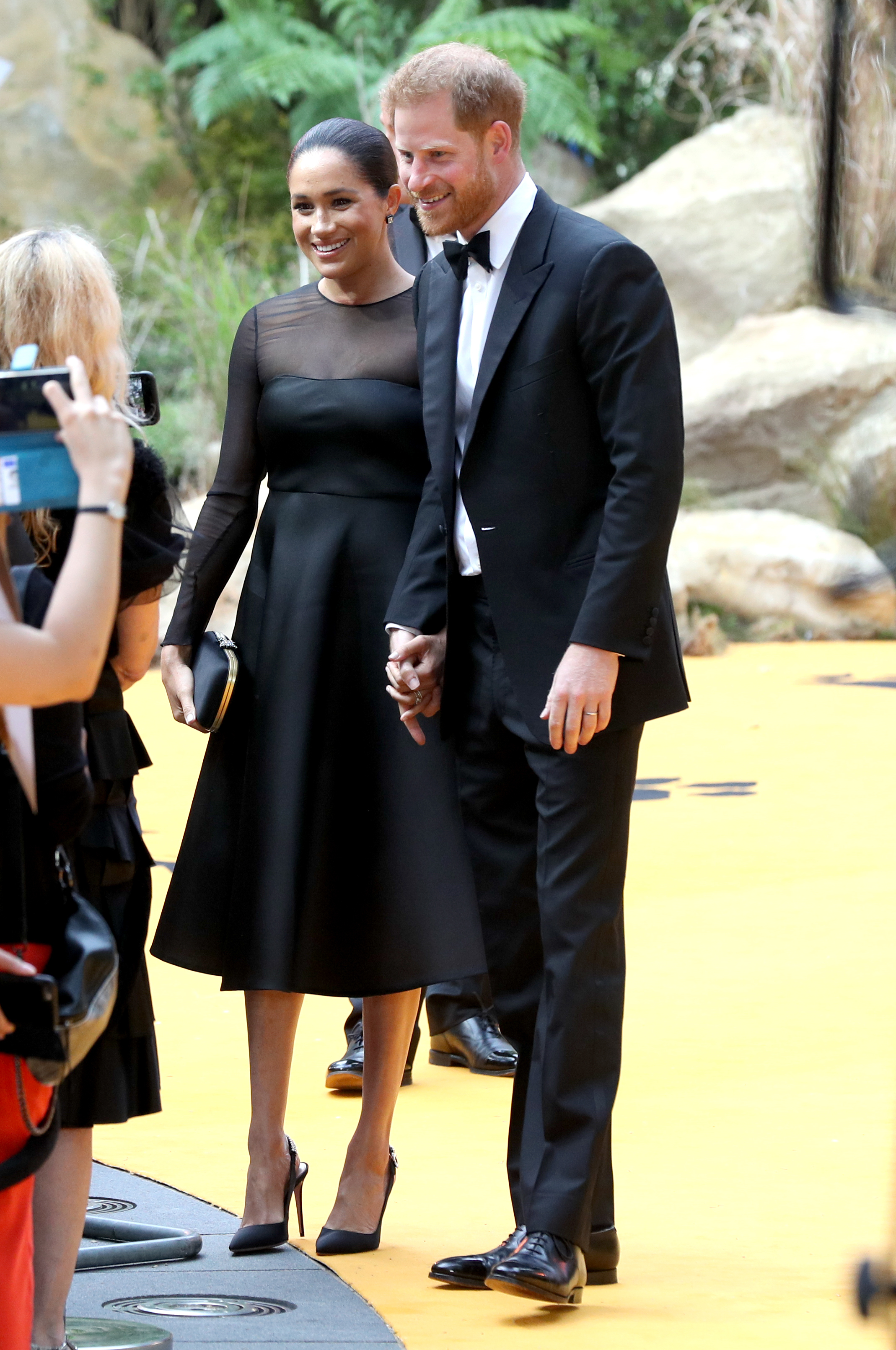 The Duke and Duchess of Sussex attend the European Premiere of Disney's The Lion King at the Odeon Leicester Square, London.
