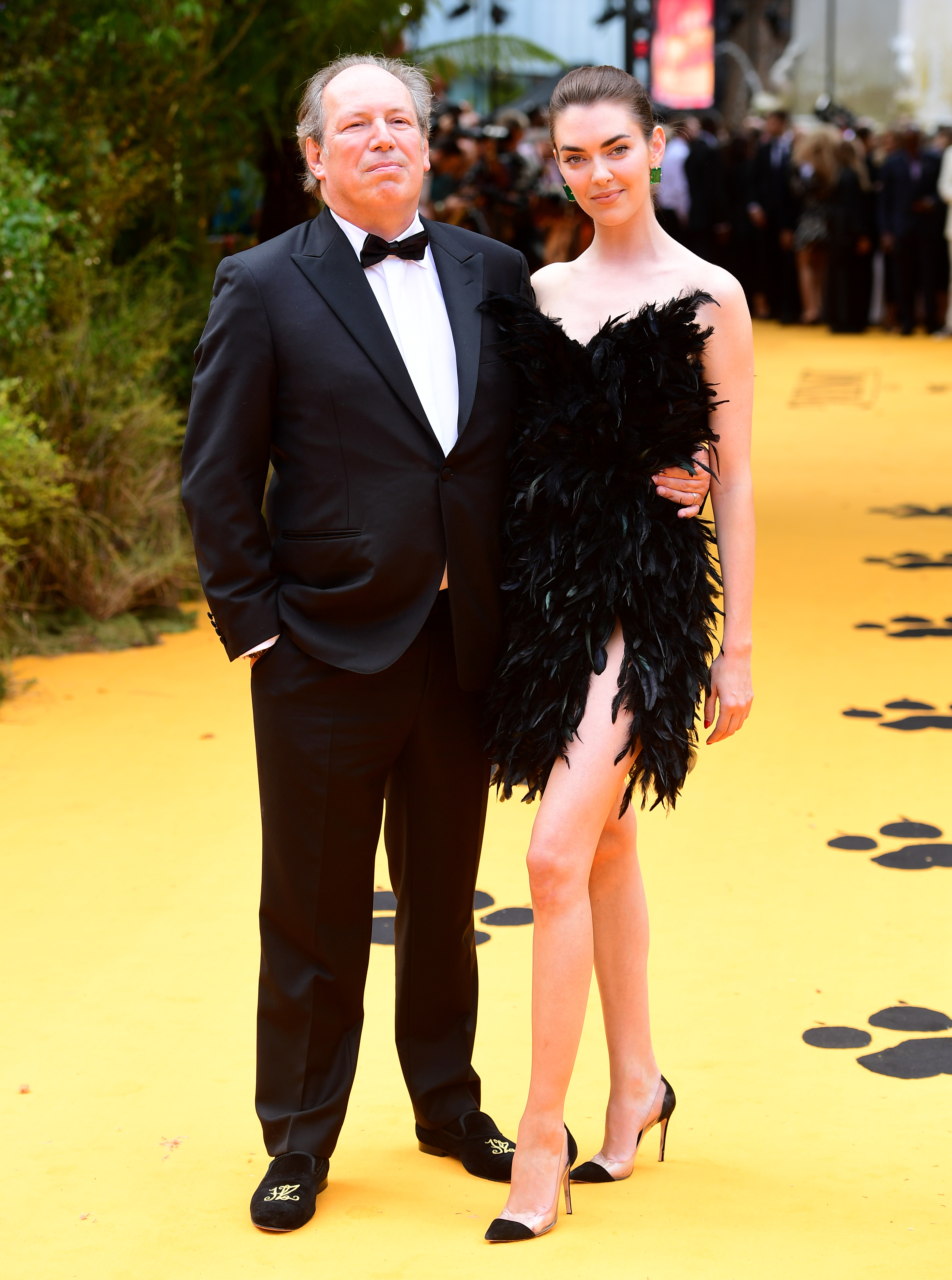 Hans Zimmer and Zoe Zimmer attending Disney's The Lion King European Premiere held in Leicester Square, London.