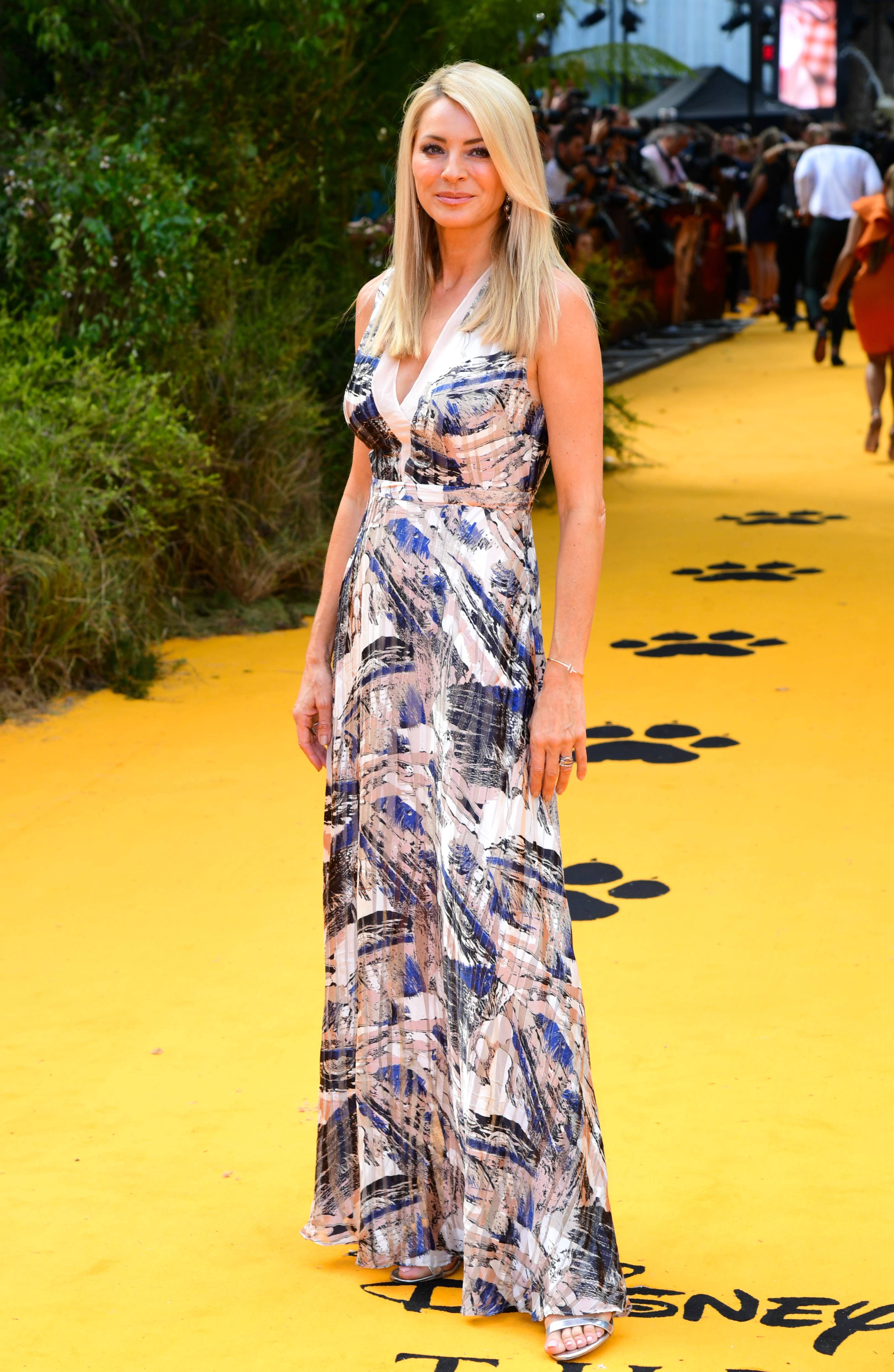 Tess Daly attending Disney's The Lion King European Premiere held in Leicester Square, London.