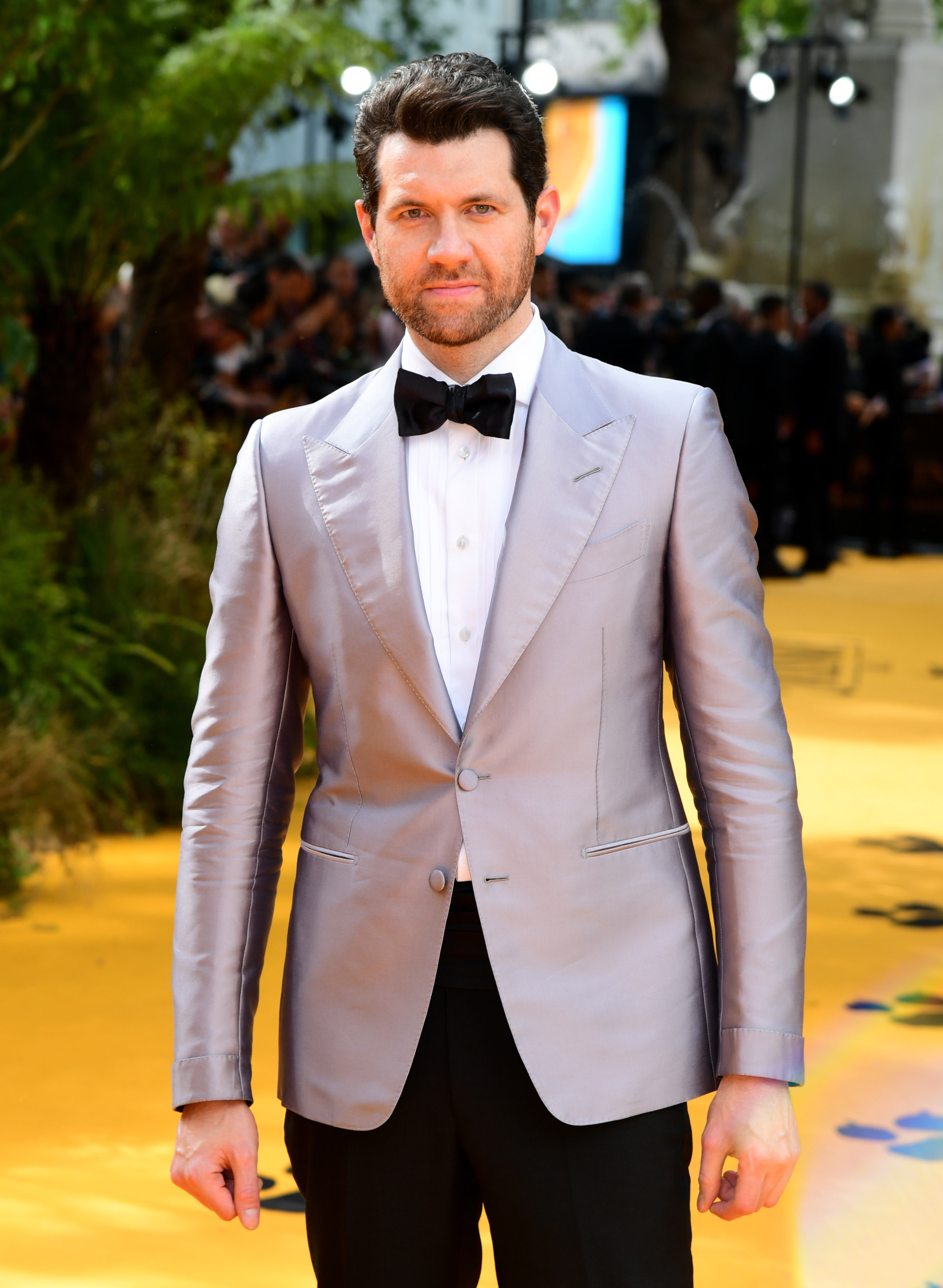 Billy Eichner attending Disney's The Lion King European Premiere held in Leicester Square, London.