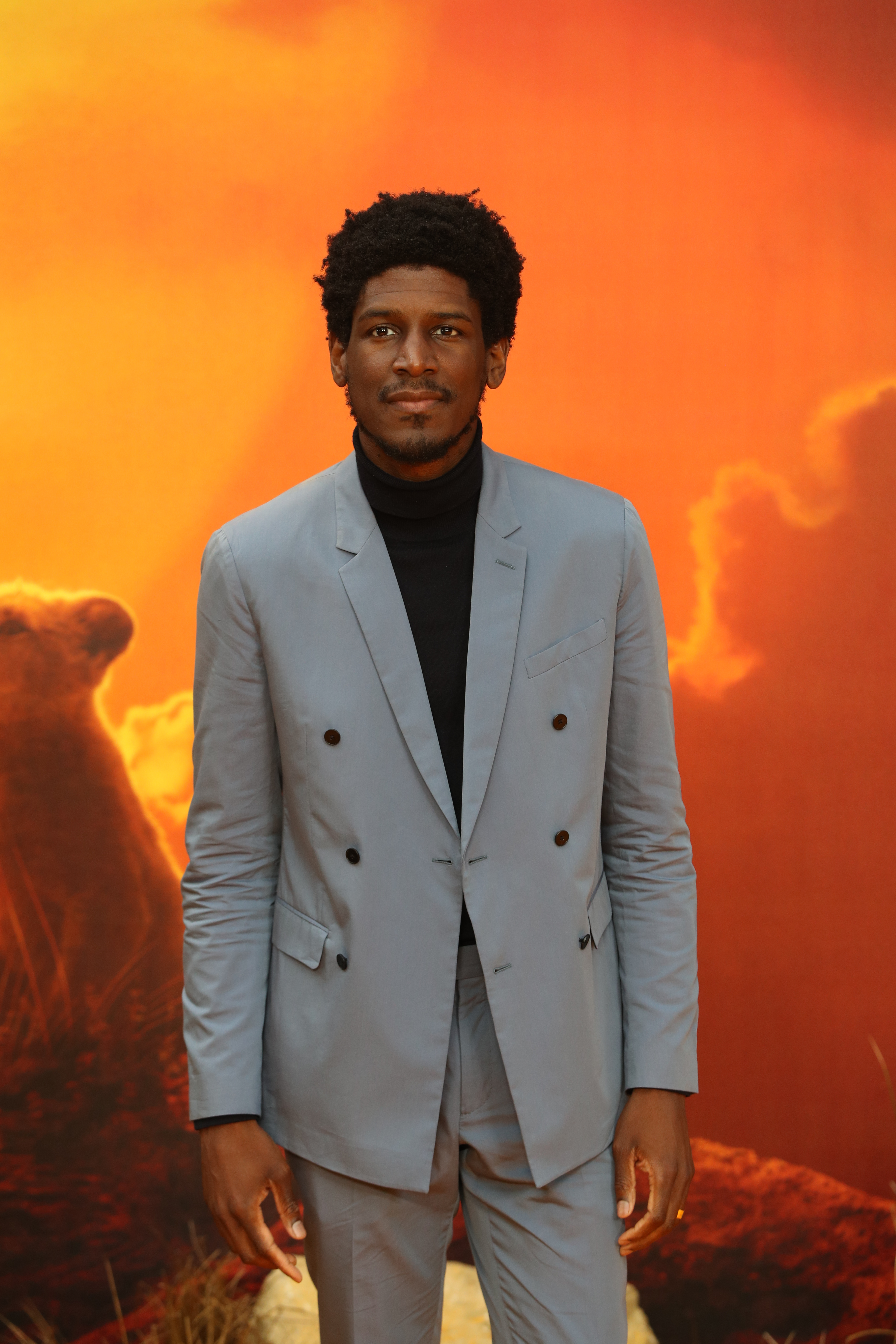Labrinth attends the European Premiere of Disney's The Lion King at the Odeon Leicester Square, London.