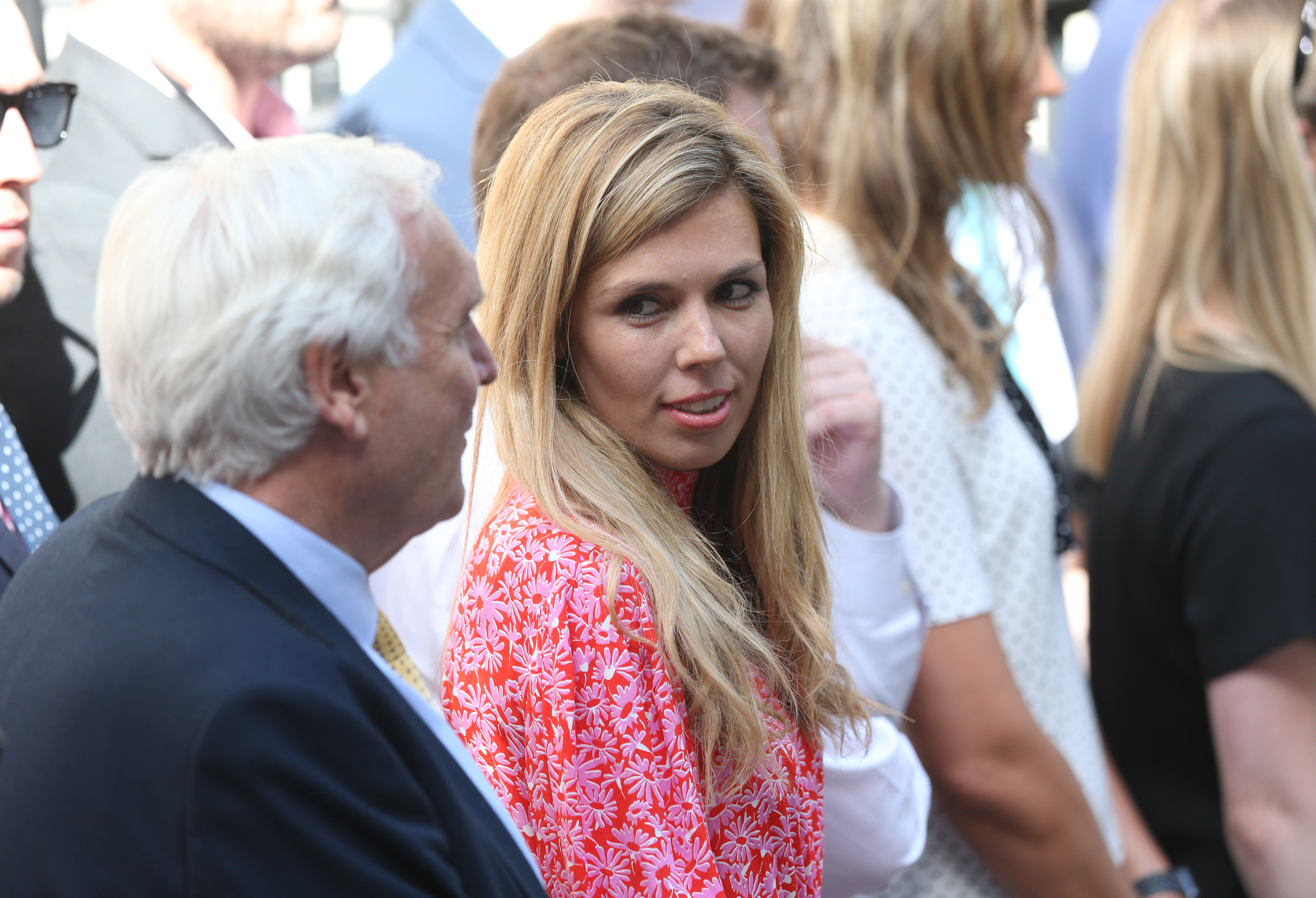 File photo dated 274/07/19 of Prime Minister Boris Johnson's partner Carrie Symonds, who is expected to speak publicly for the first time since moving into Downing Street at an environmental event.