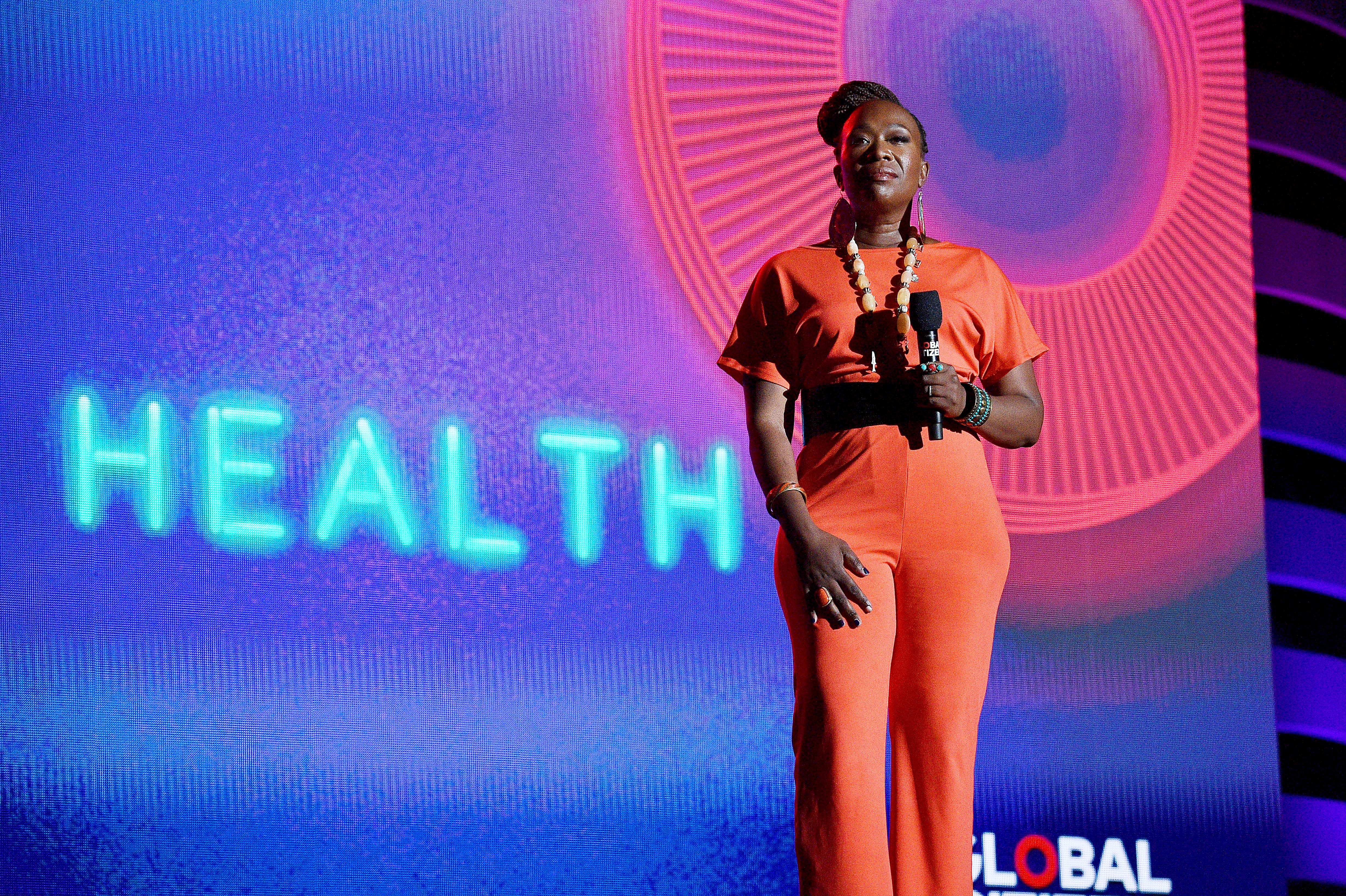 NEW YORK, NEW YORK - SEPTEMBER 28: Joy Reid speaks onstage during the 2019 Global Citizen Festival: Power The Movement in Central Park on September 28, 2019 in New York City. (Photo by Theo Wargo/Getty Images for Global Citizen)