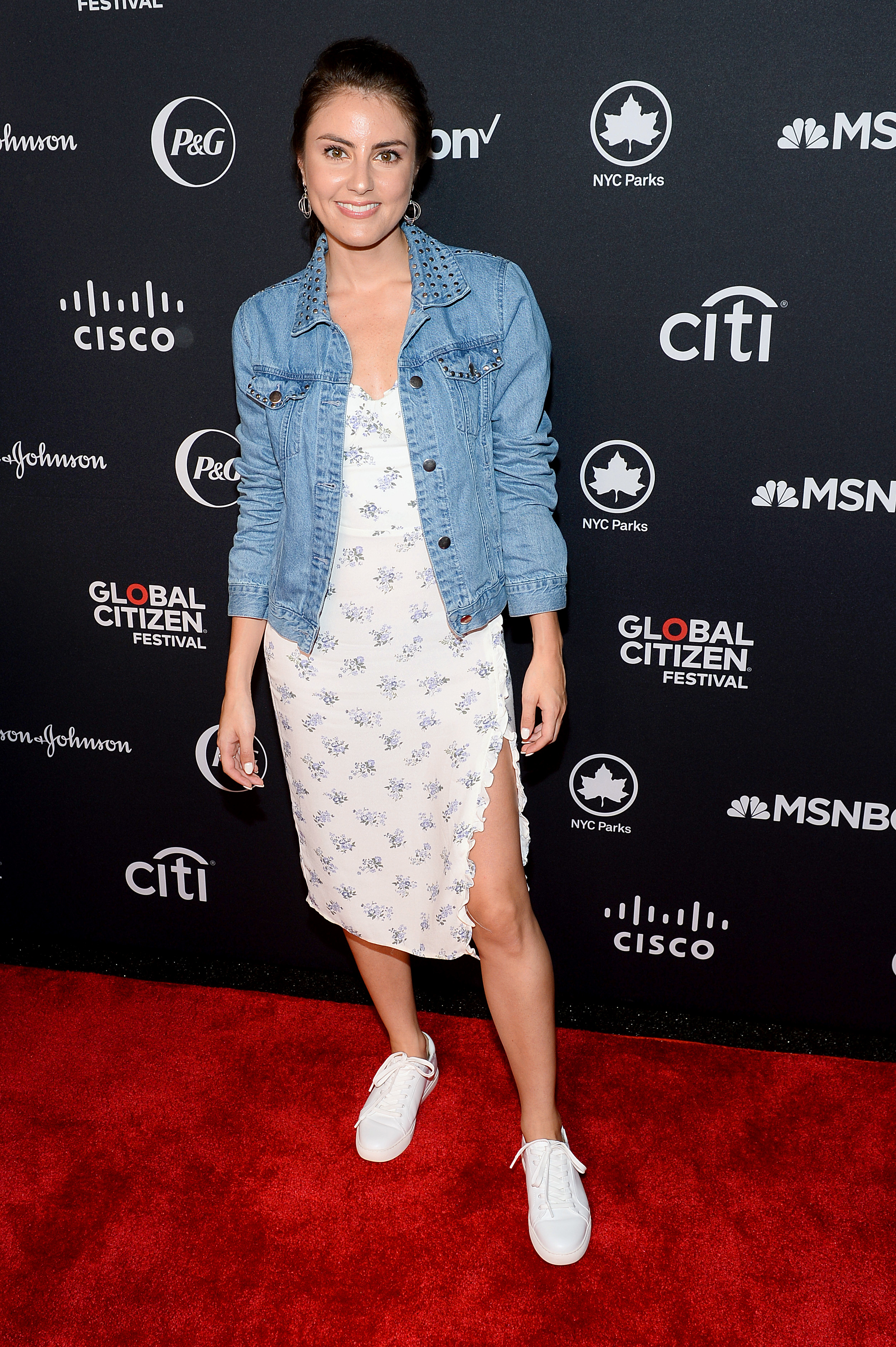 NEW YORK, NEW YORK - SEPTEMBER 28: Daniela Pierre Bravo attends the 2019 Global Citizen Festival: Power The Movement in Central Park on September 28, 2019 in New York City. (Photo by Noam Galai/Getty Images for Global Citizen)
