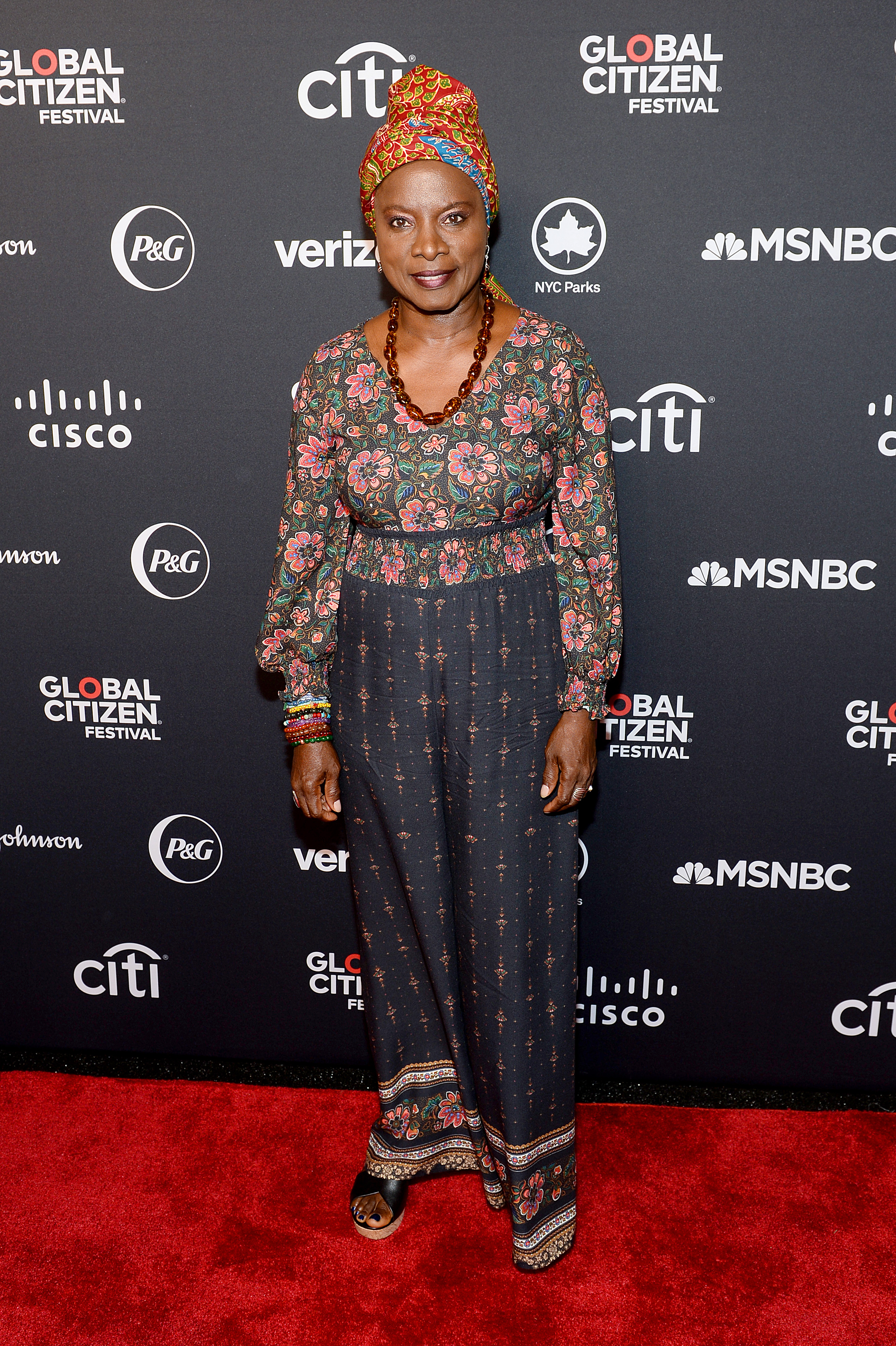 NEW YORK, NEW YORK - SEPTEMBER 28: Angelique Kidjo attends the 2019 Global Citizen Festival: Power The Movement in Central Park on September 28, 2019 in New York City. (Photo by Noam Galai/Getty Images for Global Citizen)