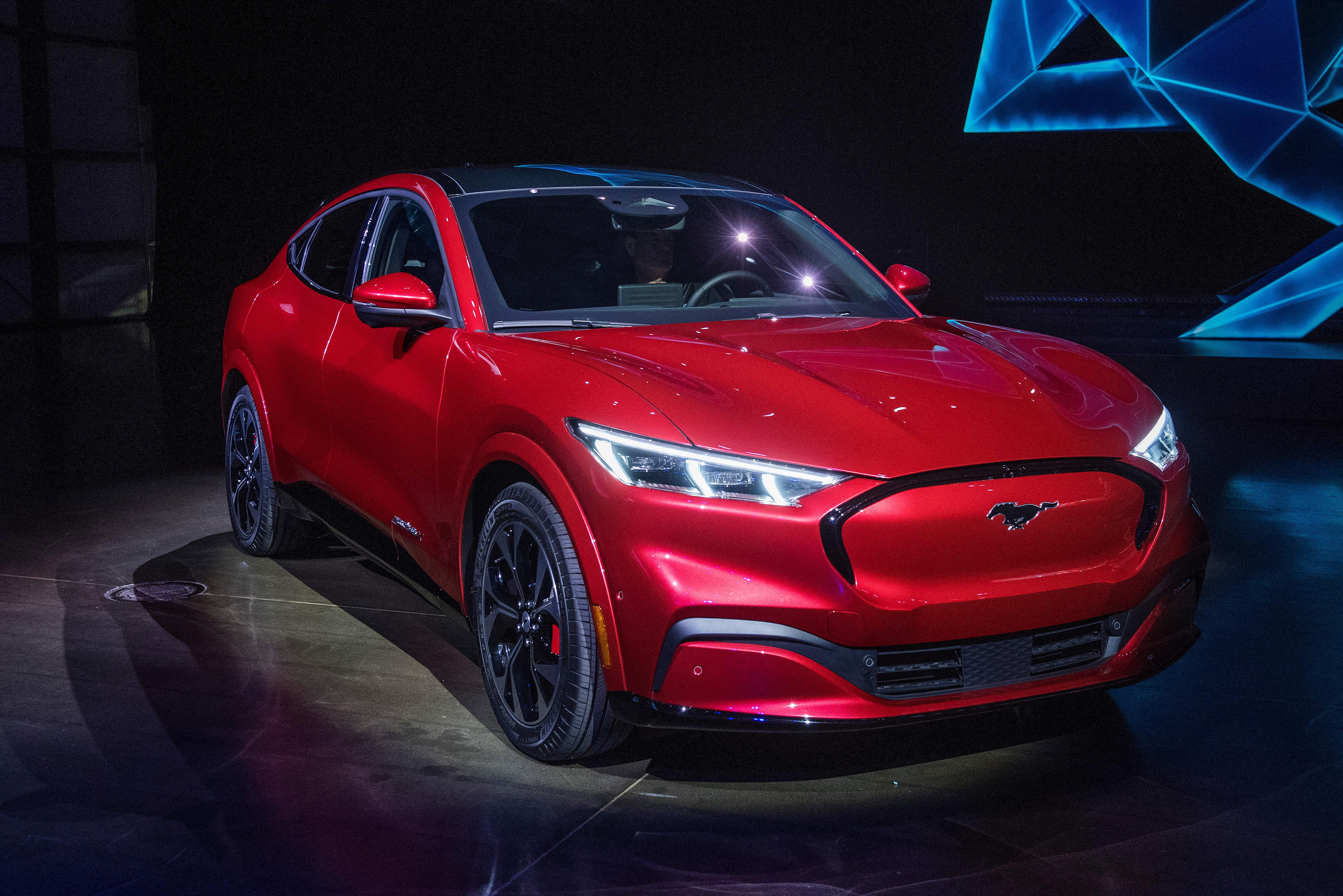 Ford Reveals New Electric Suv Mustang Mach E