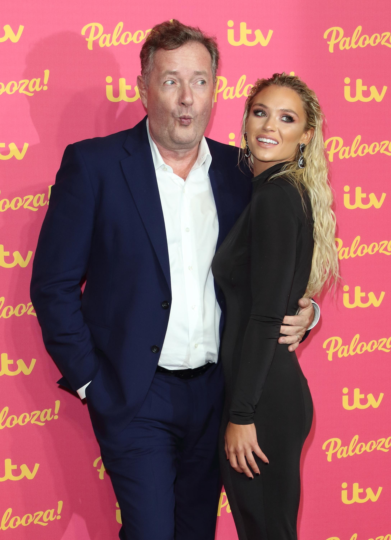 Lucie Donlan and Piers Morgan at the ITV Palooza at the Royal Festival Hall, South Bank (Photo by Keith Mayhew / SOPA Images/Sipa USA)