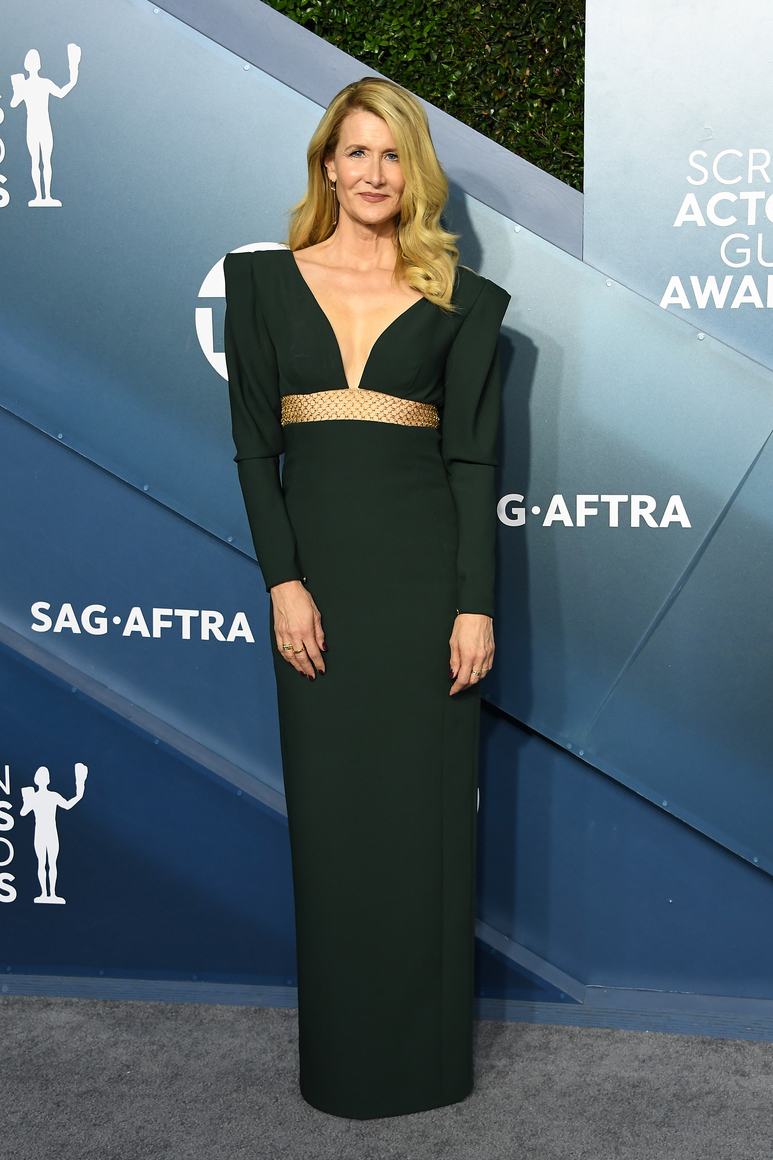 LOS ANGELES, CALIFORNIA - JANUARY 19: Laura Dern attends the 26th Annual Screen ActorsGuild Awards at The Shrine Auditorium on January 19, 2020 in Los Angeles, California. (Photo by Steve Granitz/WireImage)