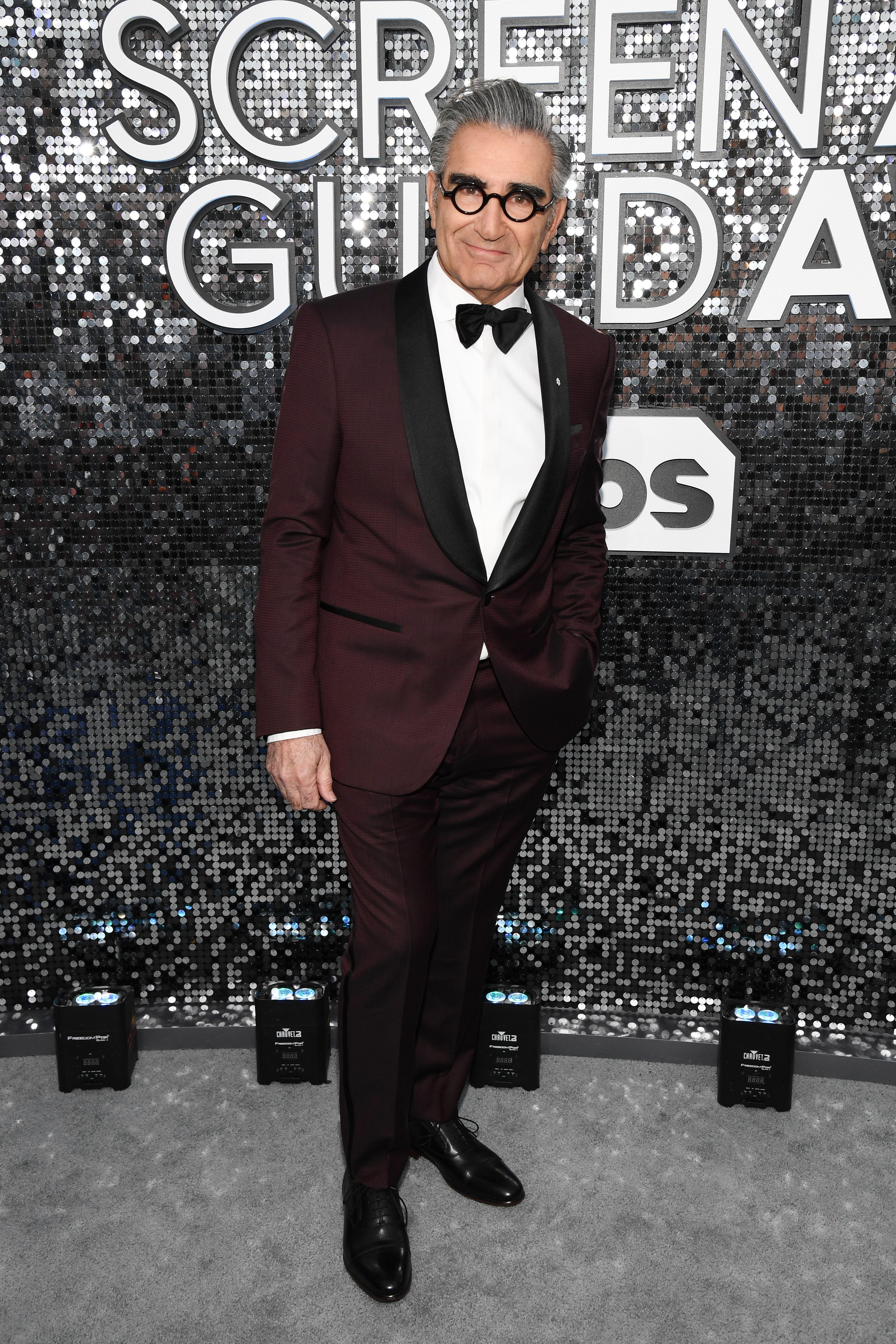 LOS ANGELES, CALIFORNIA - JANUARY 19: Eugene Levy attends the 26th Annual Screen ActorsGuild Awards at The Shrine Auditorium on January 19, 2020 in Los Angeles, California. 721336 (Photo by Kevin Mazur/Getty Images for Turner)