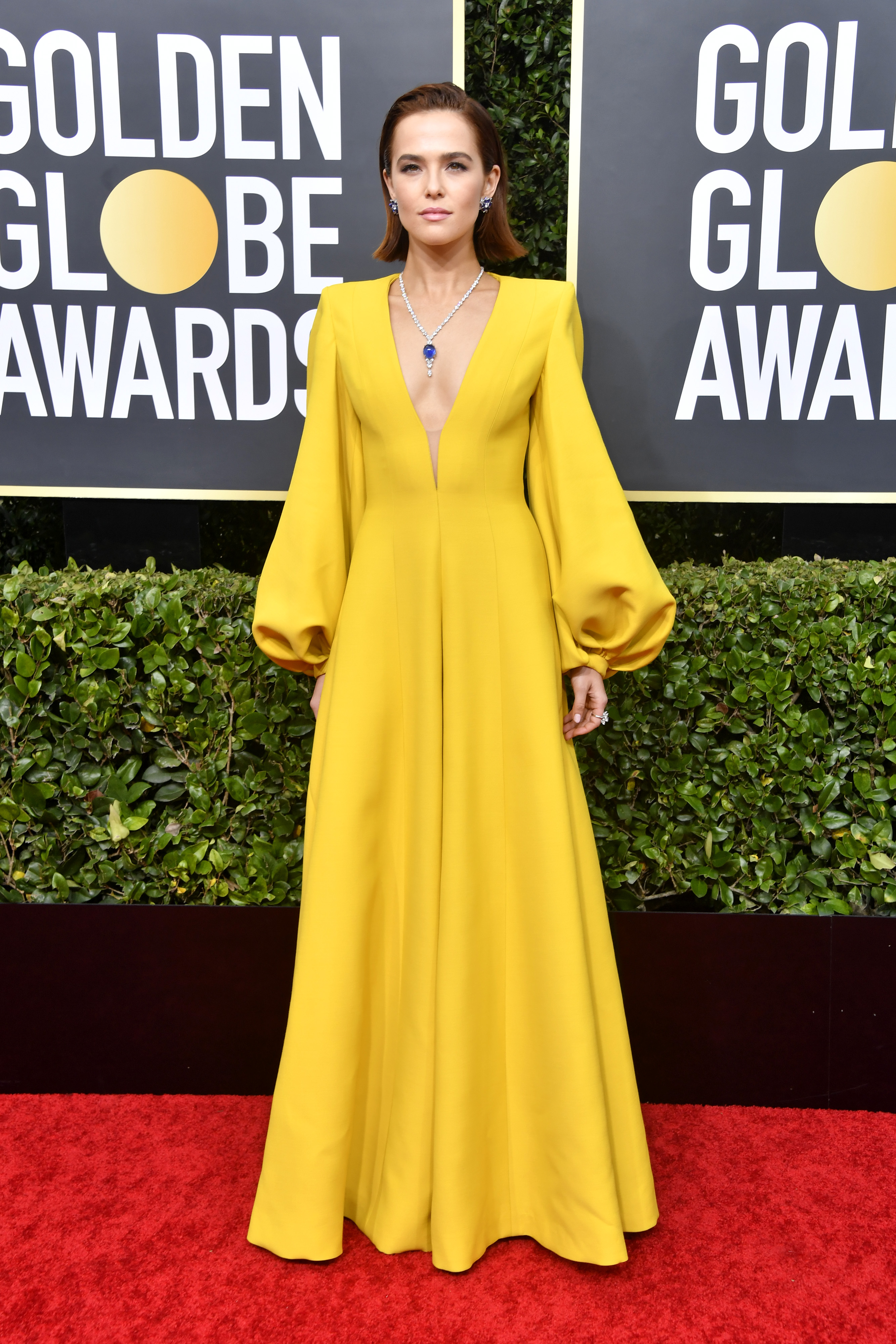 BEVERLY HILLS, CALIFORNIA - JANUARY 05: Zoey Deutch attends the 77th Annual Golden Globe Awards at The Beverly Hilton Hotel on January 05, 2020 in Beverly Hills, California. (Photo by Frazer Harrison/Getty Images)