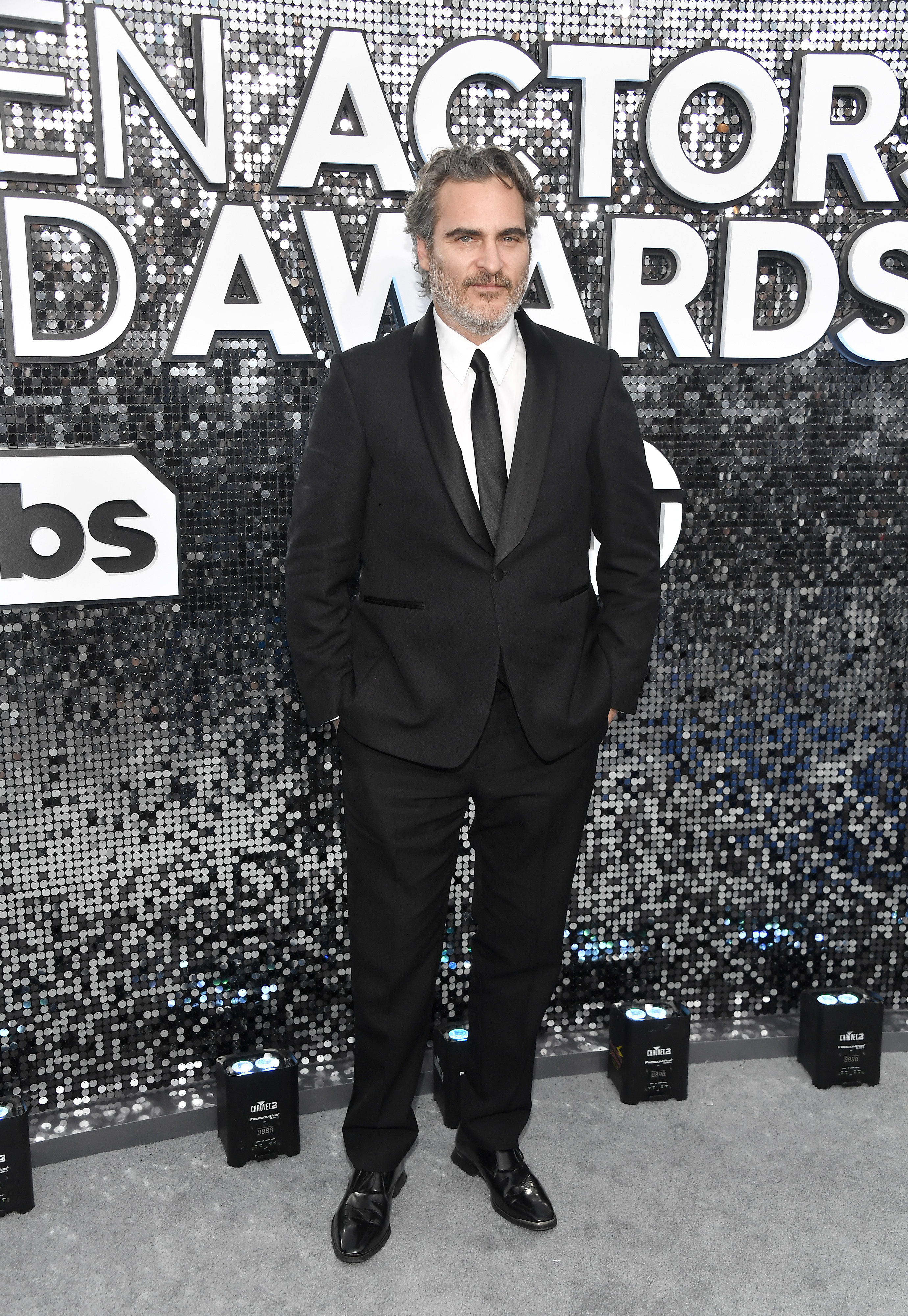 LOS ANGELES, CALIFORNIA - JANUARY 19: Joaquin Phoenix attends the 26th Annual Screen ActorsGuild Awards at The Shrine Auditorium on January 19, 2020 in Los Angeles, California. (Photo by Frazer Harrison/Getty Images)
