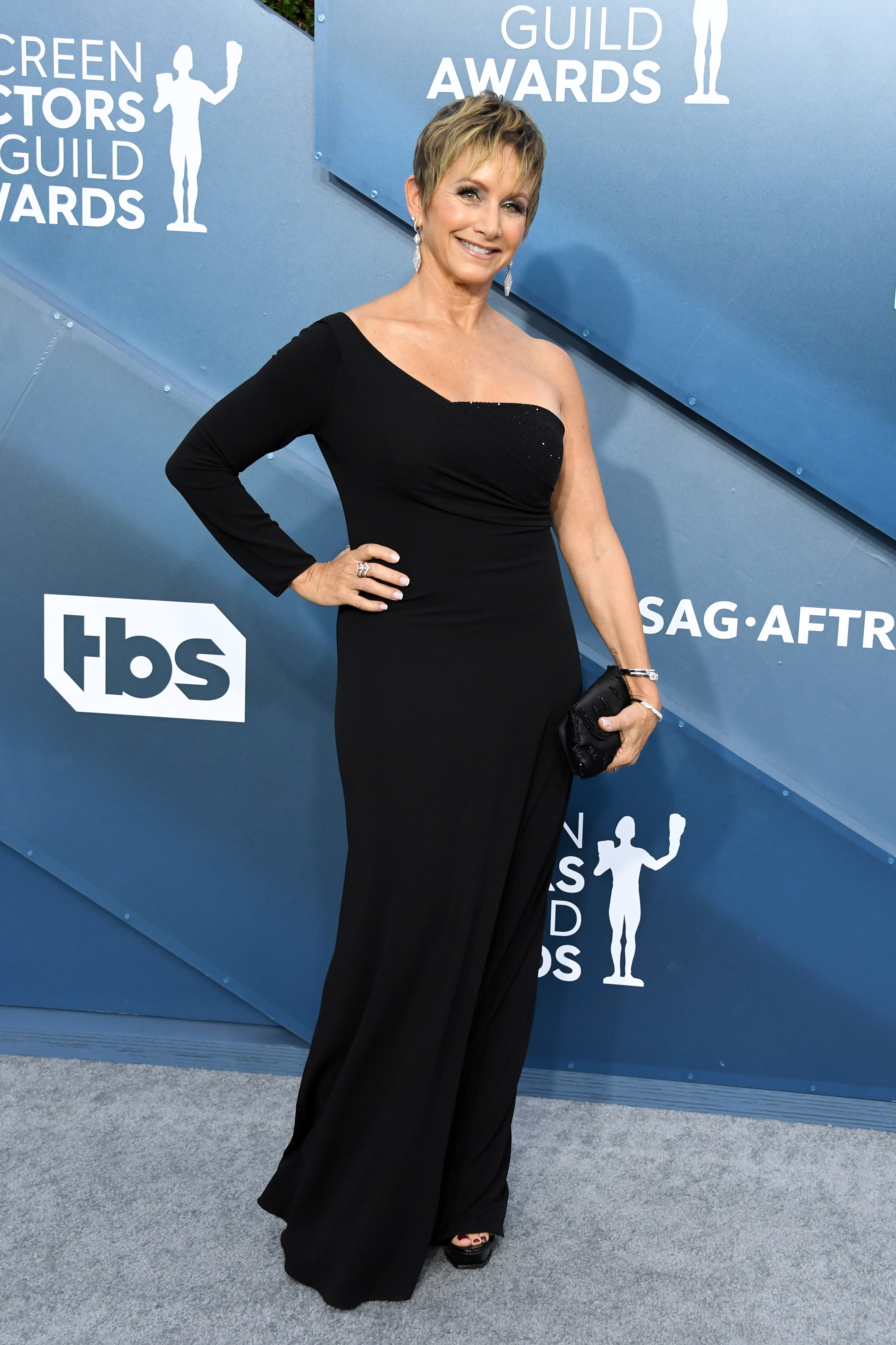 LOS ANGELES, CALIFORNIA - JANUARY 19: SAG-AFTRA President Gabrielle Carteris attends the 26th Annual Screen ActorsGuild Awards at The Shrine Auditorium on January 19, 2020 in Los Angeles, California. (Photo by Jon Kopaloff/Getty Images)