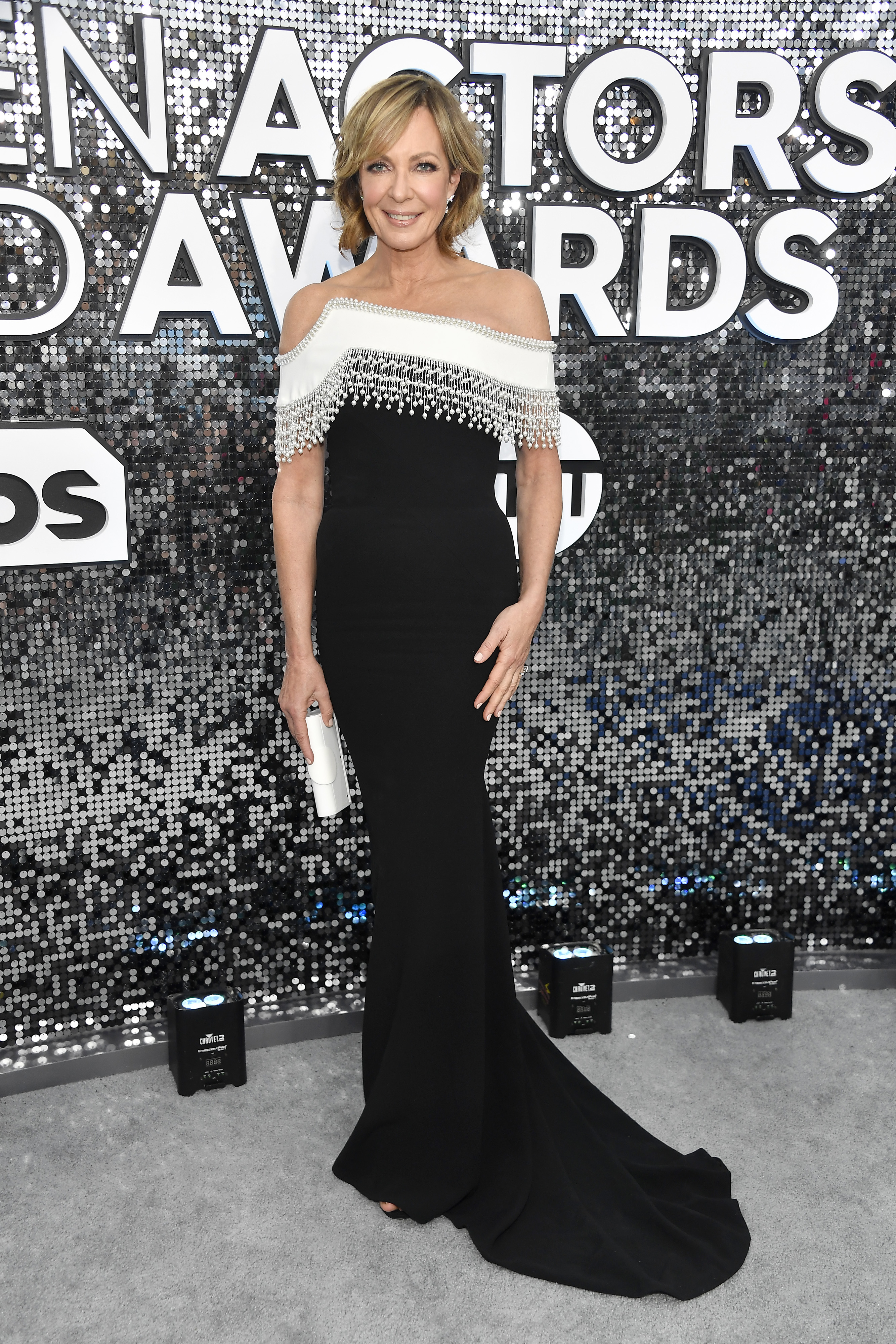 LOS ANGELES, CALIFORNIA - JANUARY 19: Allison Janney attends the 26th Annual Screen ActorsGuild Awards at The Shrine Auditorium on January 19, 2020 in Los Angeles, California. (Photo by Frazer Harrison/Getty Images)