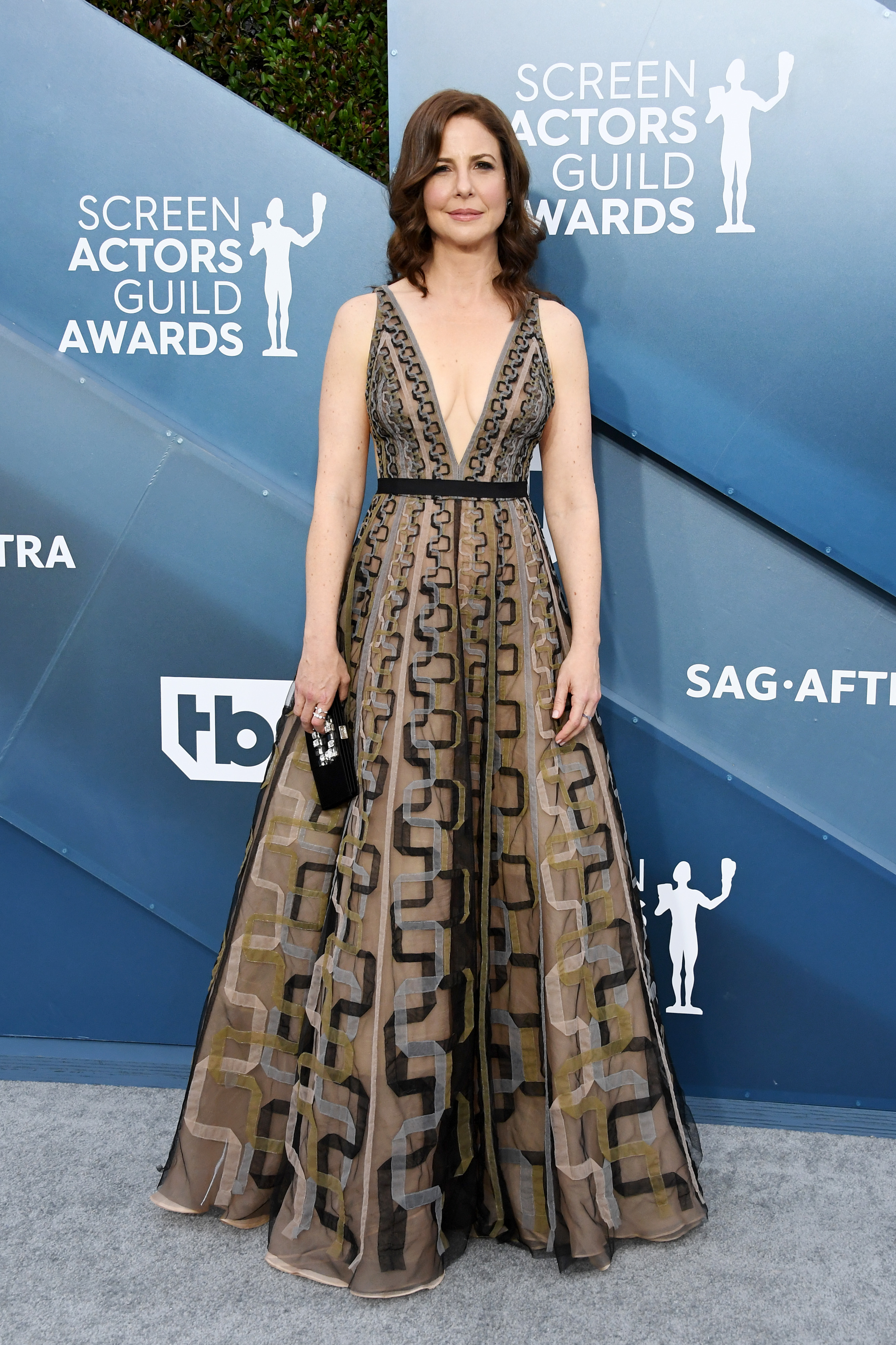 LOS ANGELES, CALIFORNIA - JANUARY 19: Robin Weigert attends the 26th Annual Screen ActorsGuild Awards at The Shrine Auditorium on January 19, 2020 in Los Angeles, California. (Photo by Jon Kopaloff/Getty Images)