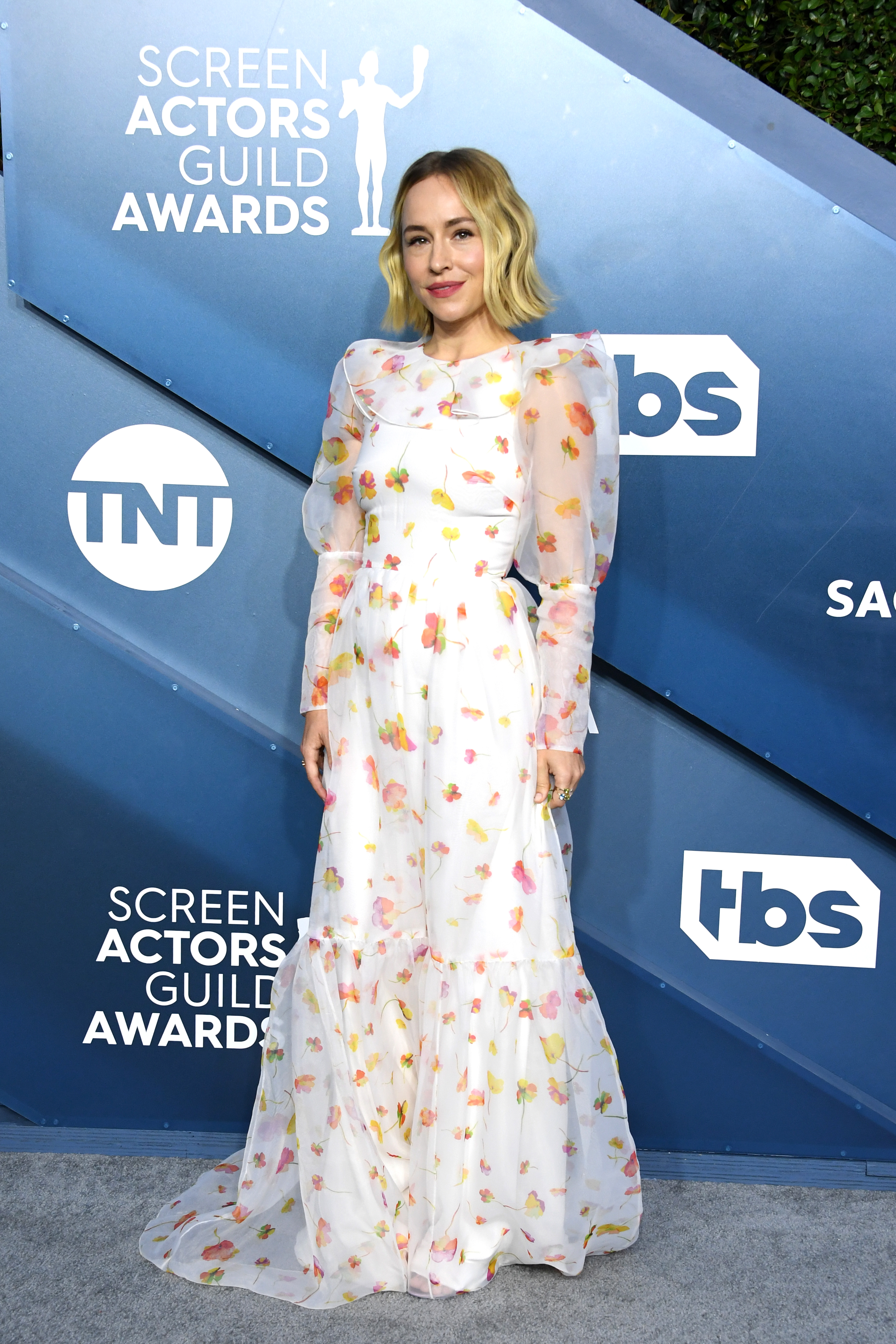 LOS ANGELES, CALIFORNIA - JANUARY 19: Sarah Goldberg attends the 26th Annual Screen ActorsGuild Awards at The Shrine Auditorium on January 19, 2020 in Los Angeles, California. (Photo by Jon Kopaloff/Getty Images)