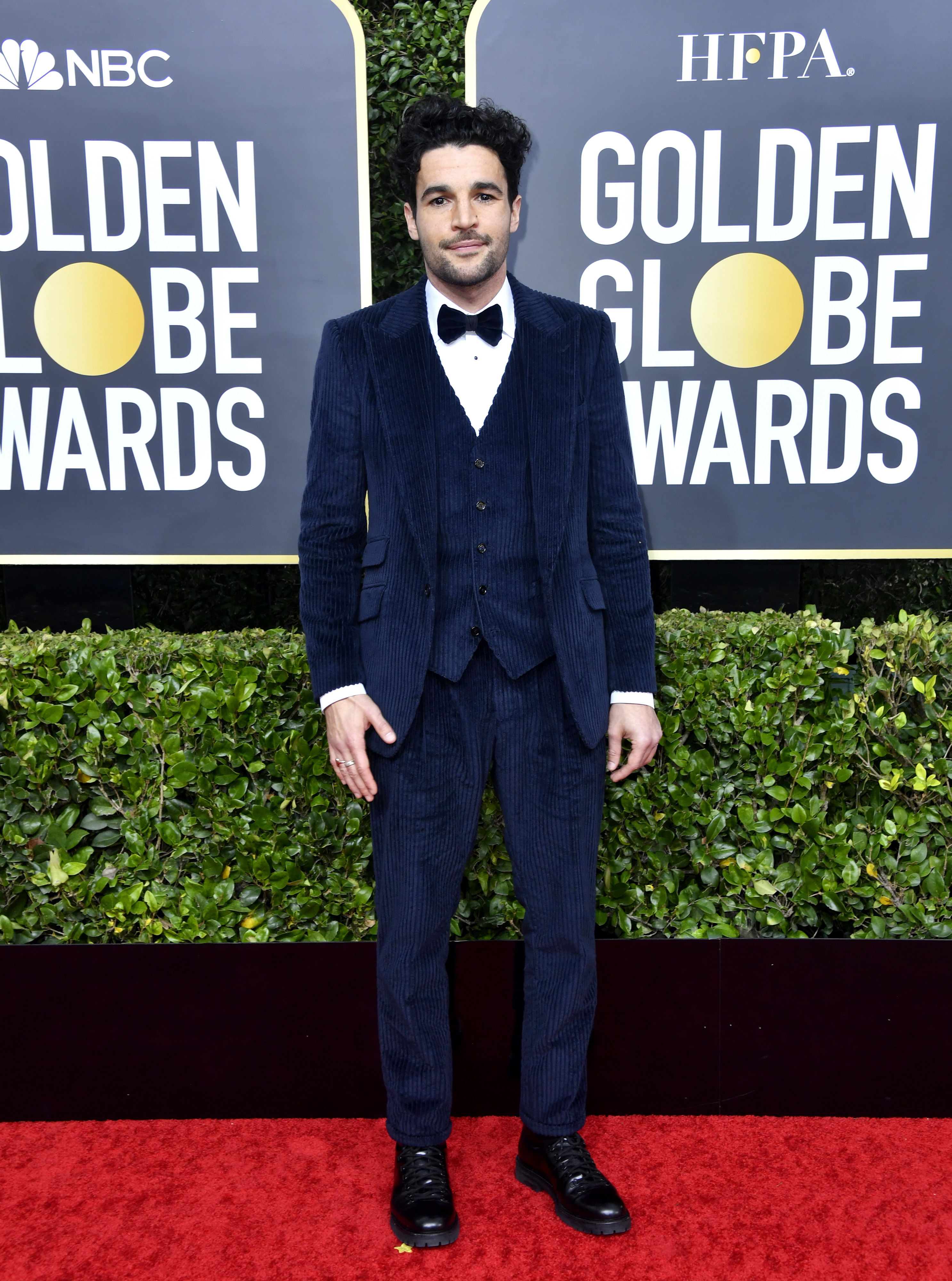 BEVERLY HILLS, CALIFORNIA - JANUARY 05: Christopher Abbott attends the 77th Annual Golden Globe Awards at The Beverly Hilton Hotel on January 05, 2020 in Beverly Hills, California. (Photo by Frazer Harrison/Getty Images)