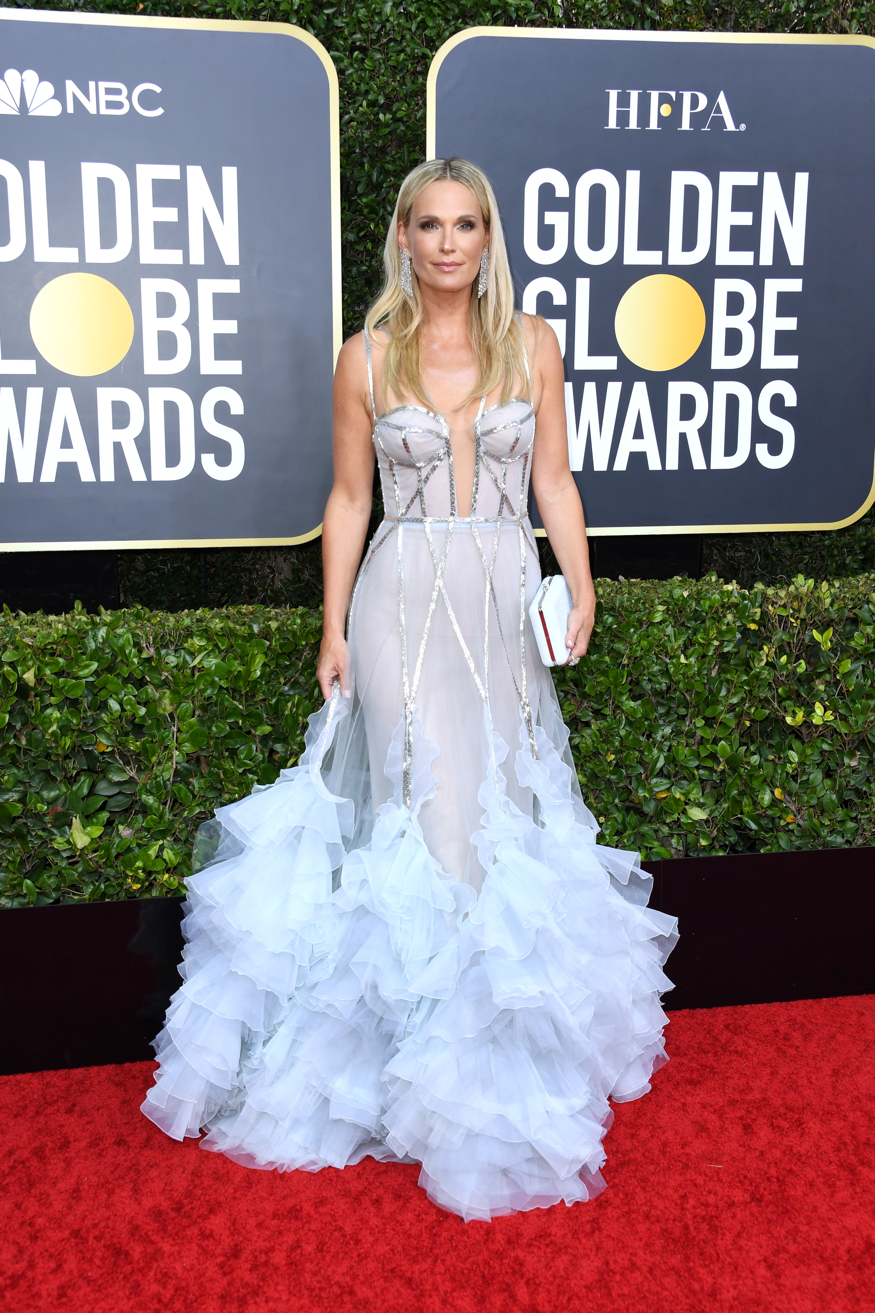BEVERLY HILLS, CALIFORNIA - JANUARY 05: Molly Sims attends the 77th Annual Golden Globe Awards at The Beverly Hilton Hotel on January 05, 2020 in Beverly Hills, California. (Photo by Jon Kopaloff/Getty Images)