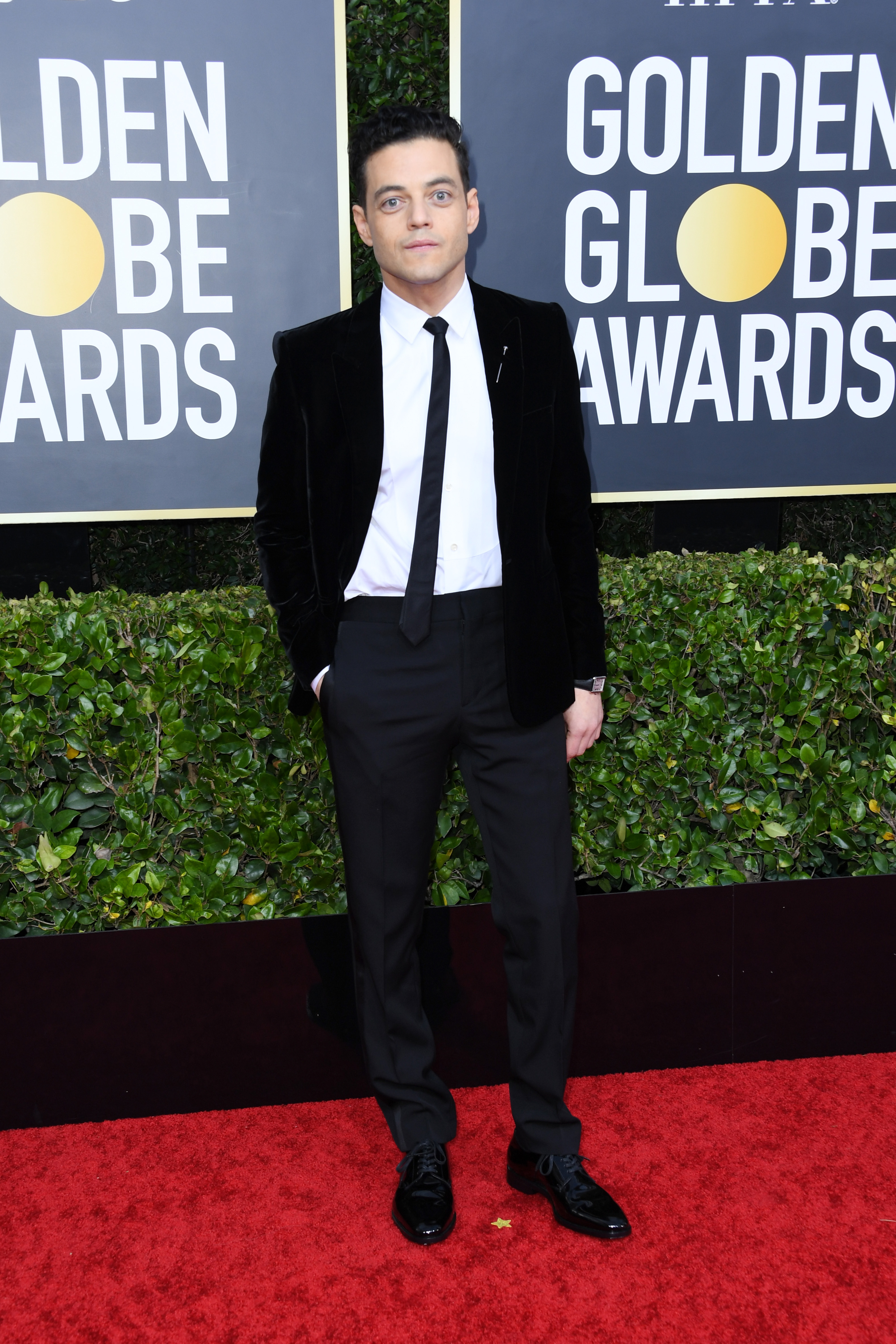 BEVERLY HILLS, CALIFORNIA - JANUARY 05: Rami Malek attends the 77th Annual Golden Globe Awards at The Beverly Hilton Hotel on January 05, 2020 in Beverly Hills, California. (Photo by Jon Kopaloff/Getty Images)
