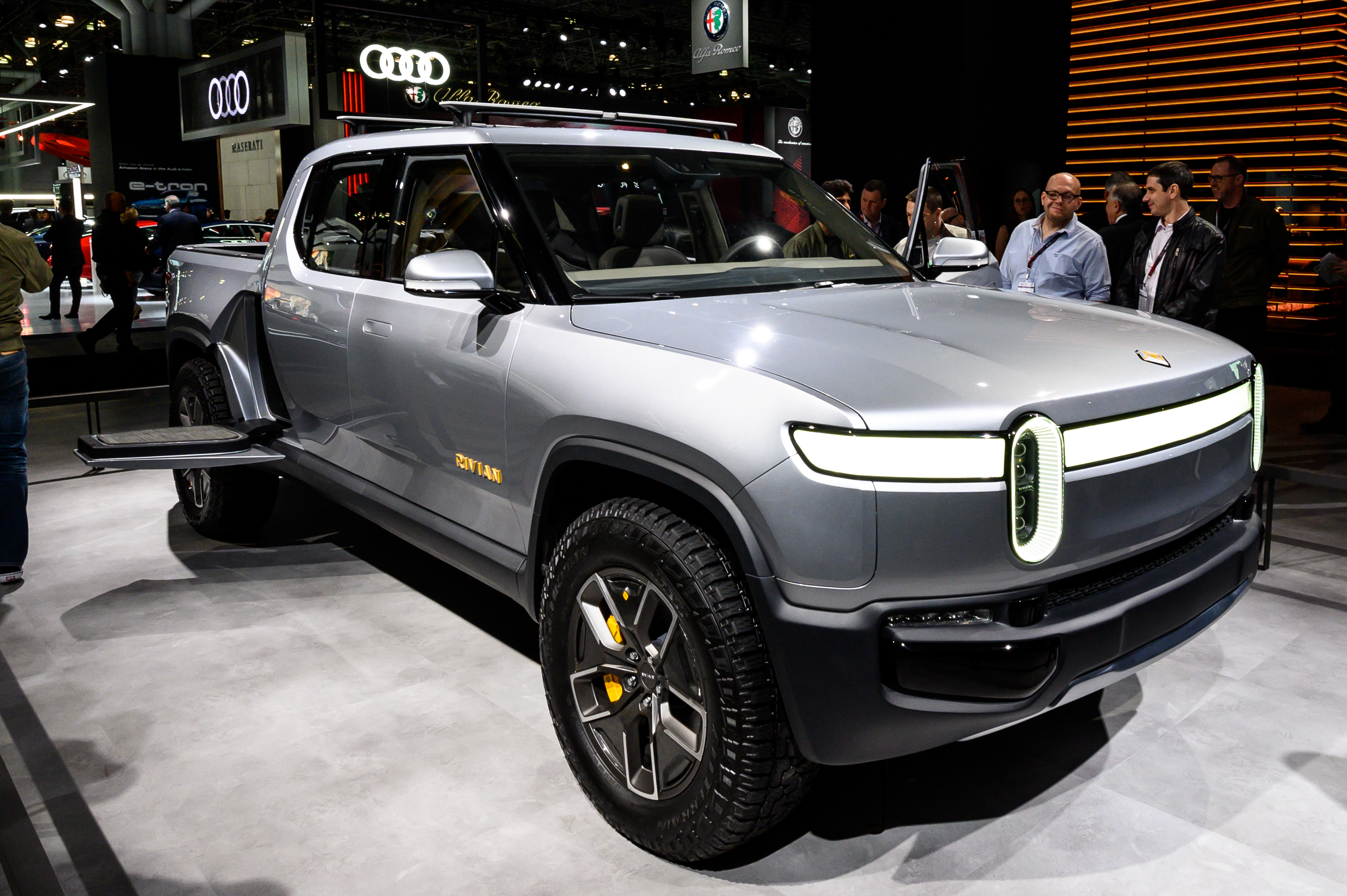 Rivian may build its first international electric vehicle plant in the UK