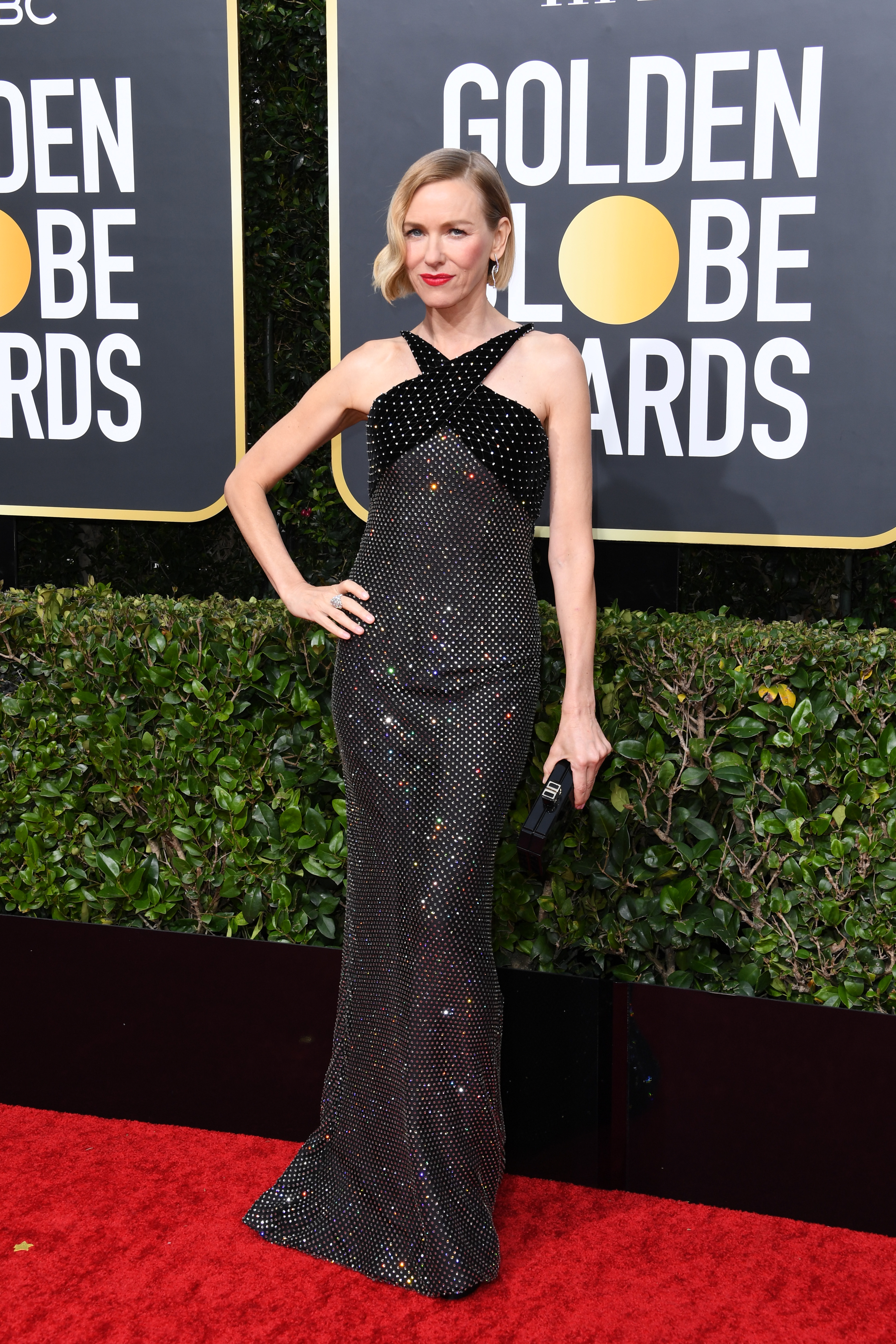 BEVERLY HILLS, CALIFORNIA - JANUARY 05: Naomi Watts attends the 77th Annual Golden Globe Awards at The Beverly Hilton Hotel on January 05, 2020 in Beverly Hills, California. (Photo by Jon Kopaloff/Getty Images)