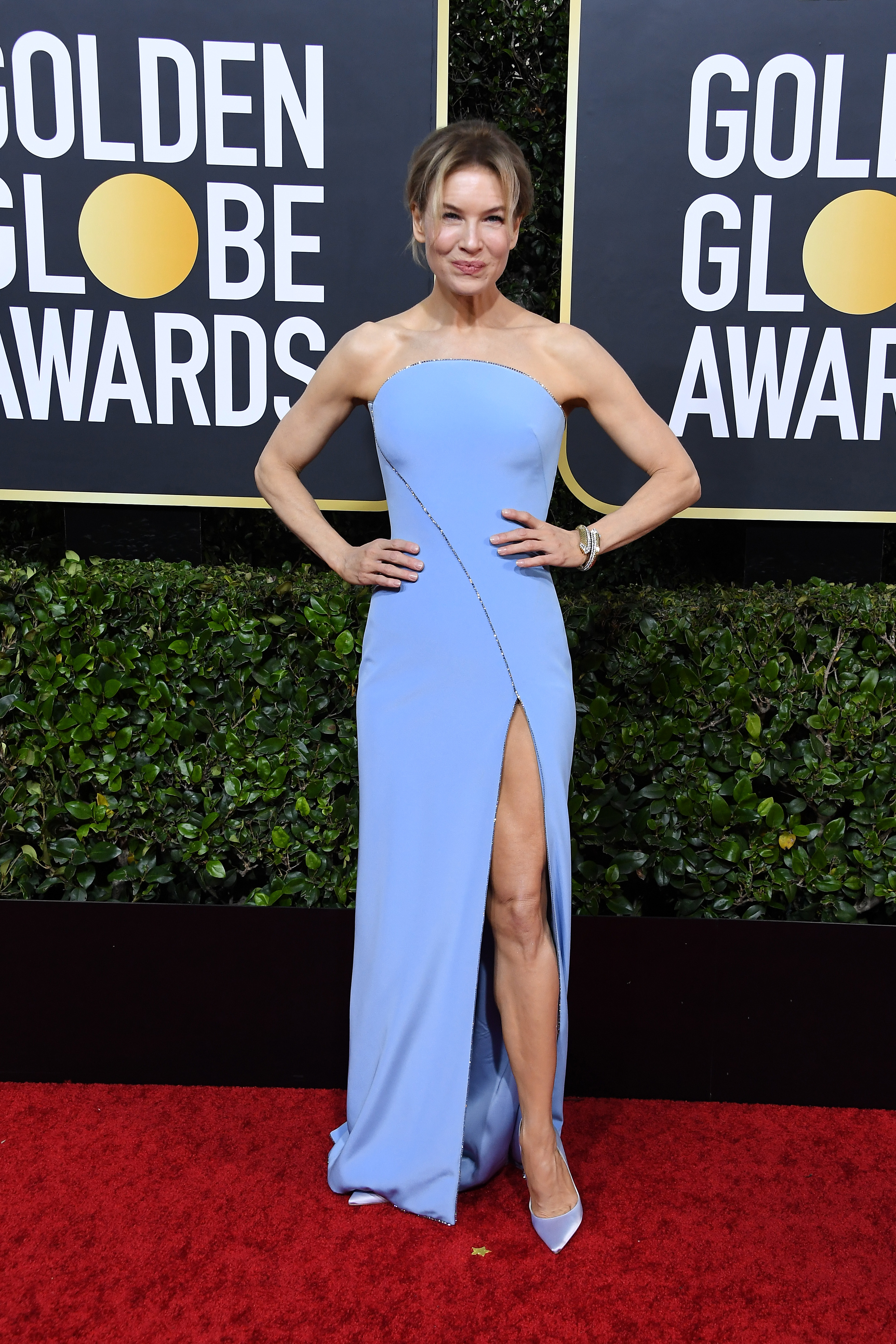 BEVERLY HILLS, CALIFORNIA - JANUARY 05: Renee Zellweger attends the 77th Annual Golden Globe Awards at The Beverly Hilton Hotel on January 05, 2020 in Beverly Hills, California. (Photo by Steve Granitz/WireImage)