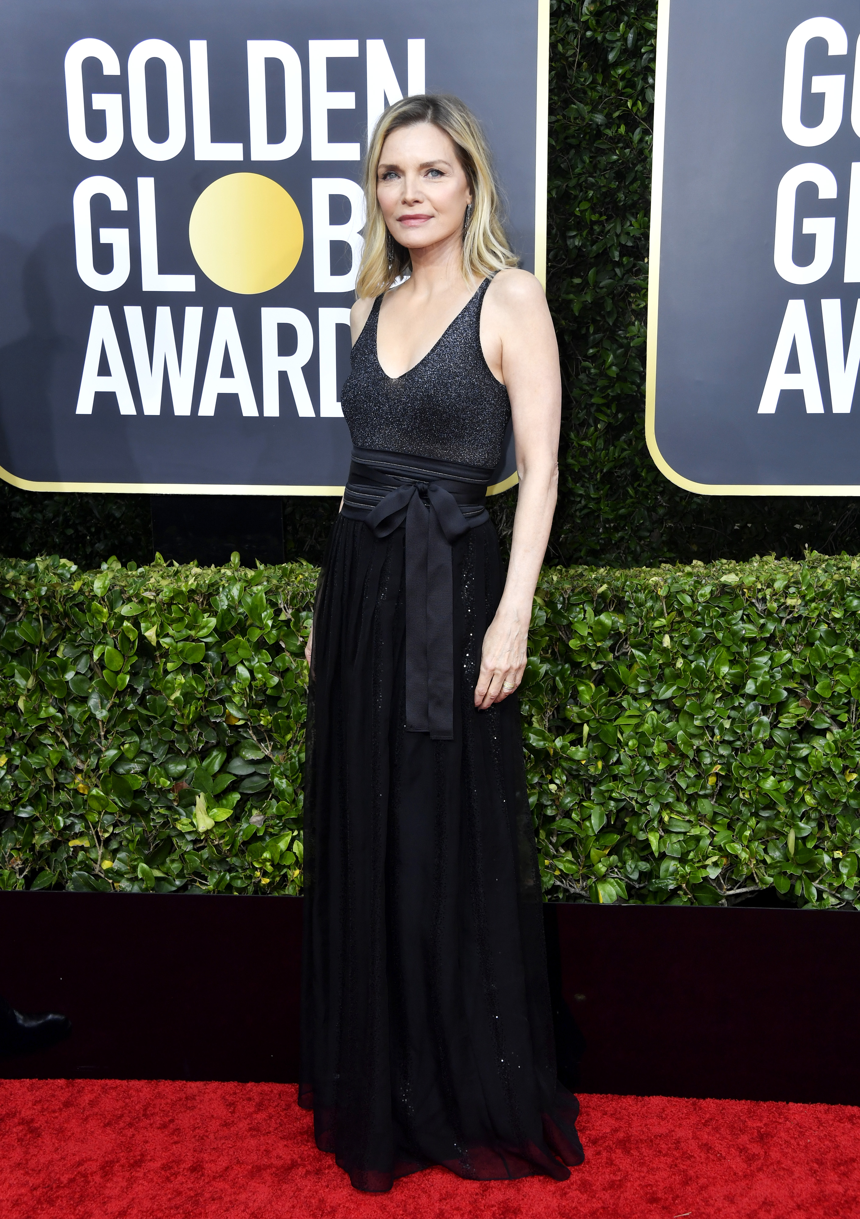 BEVERLY HILLS, CALIFORNIA - JANUARY 05: Michelle Pfeiffer attends the 77th Annual Golden Globe Awards at The Beverly Hilton Hotel on January 05, 2020 in Beverly Hills, California. (Photo by Frazer Harrison/Getty Images)