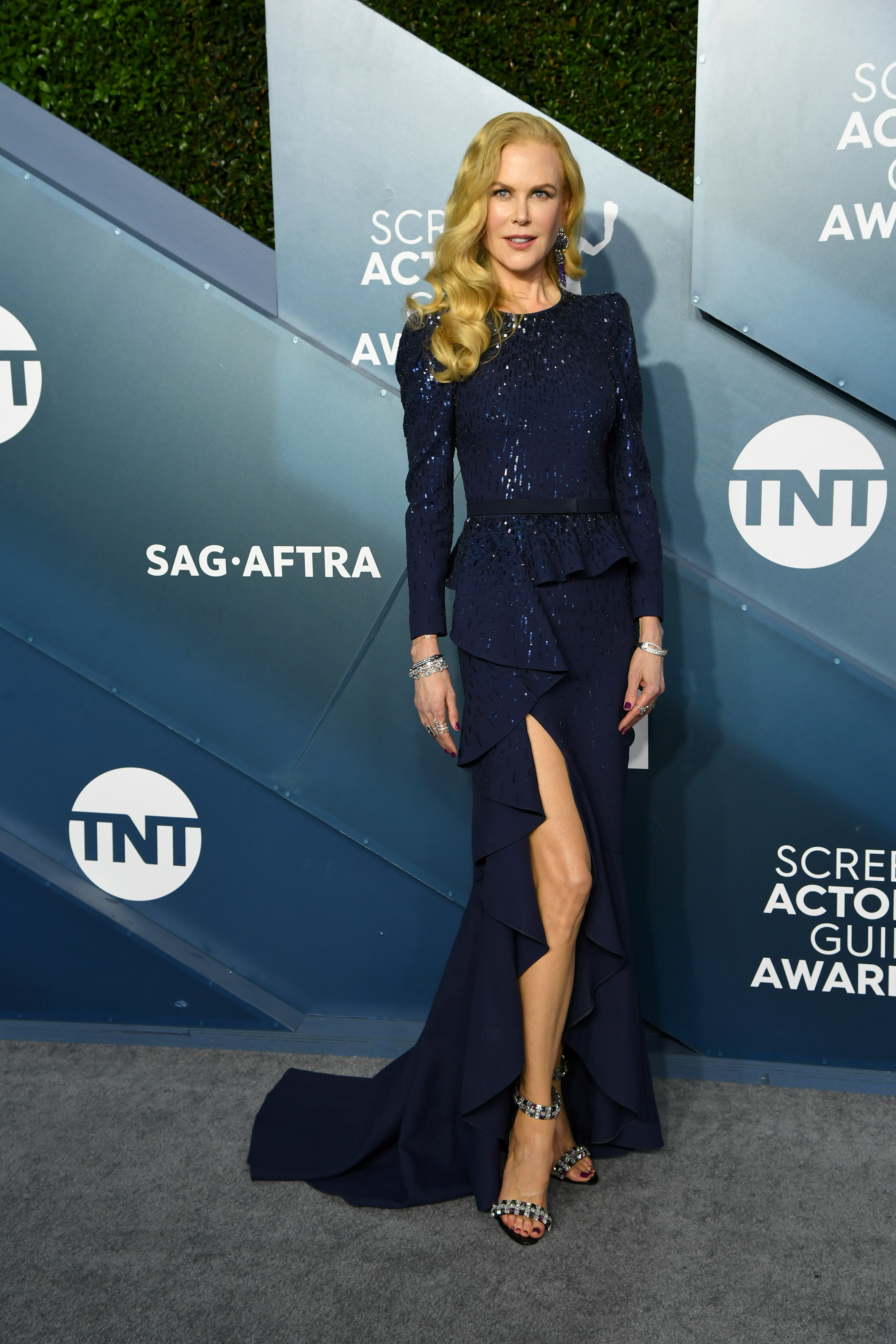 LOS ANGELES, CALIFORNIA - JANUARY 19: Nicole Kidman attends the 26th Annual Screen ActorsGuild Awards at The Shrine Auditorium on January 19, 2020 in Los Angeles, California. (Photo by Jeff Kravitz/FilmMagic)