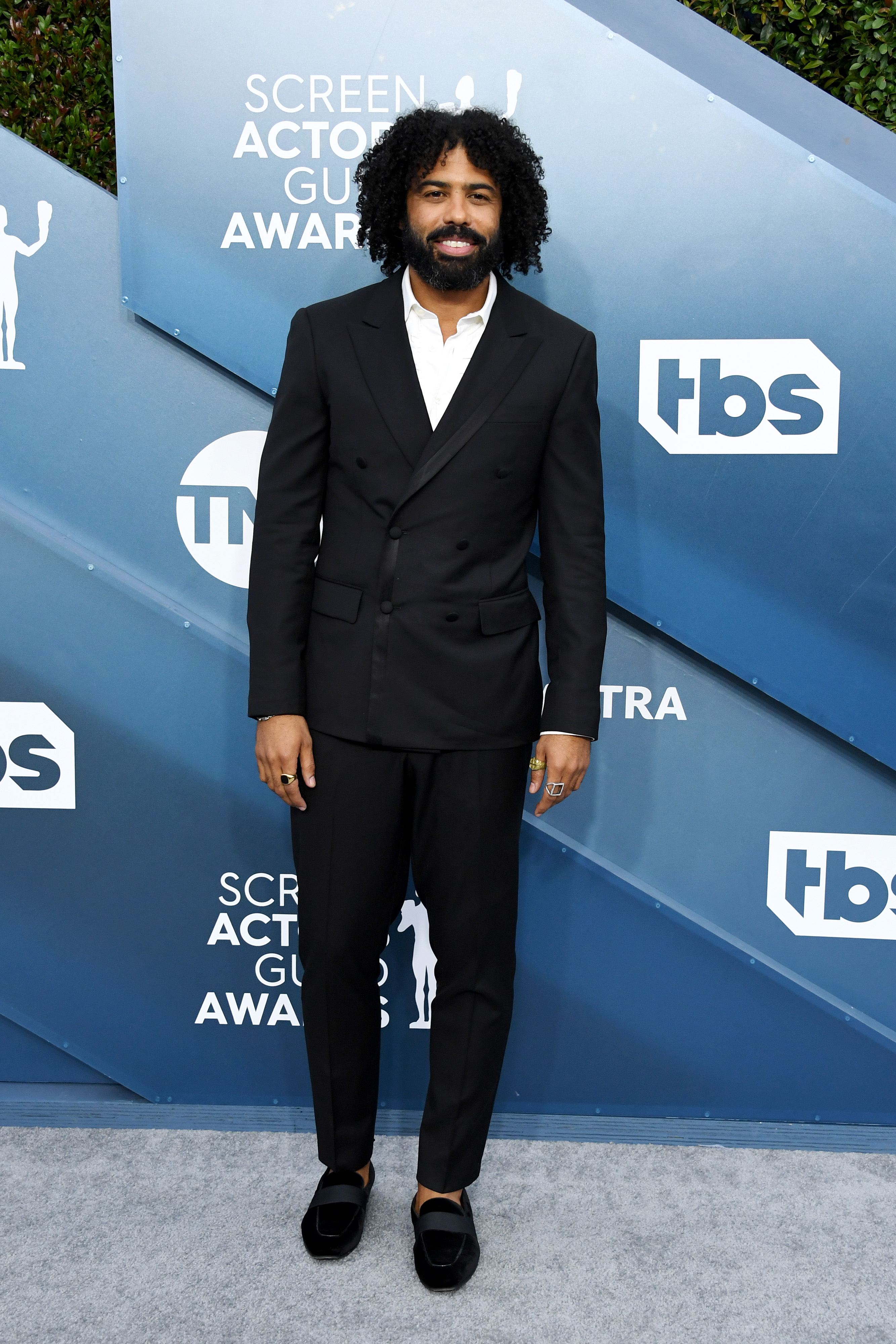 LOS ANGELES, CALIFORNIA - JANUARY 19: Daveed Diggs attends the 26th Annual Screen ActorsGuild Awards at The Shrine Auditorium on January 19, 2020 in Los Angeles, California. (Photo by Jon Kopaloff/Getty Images)
